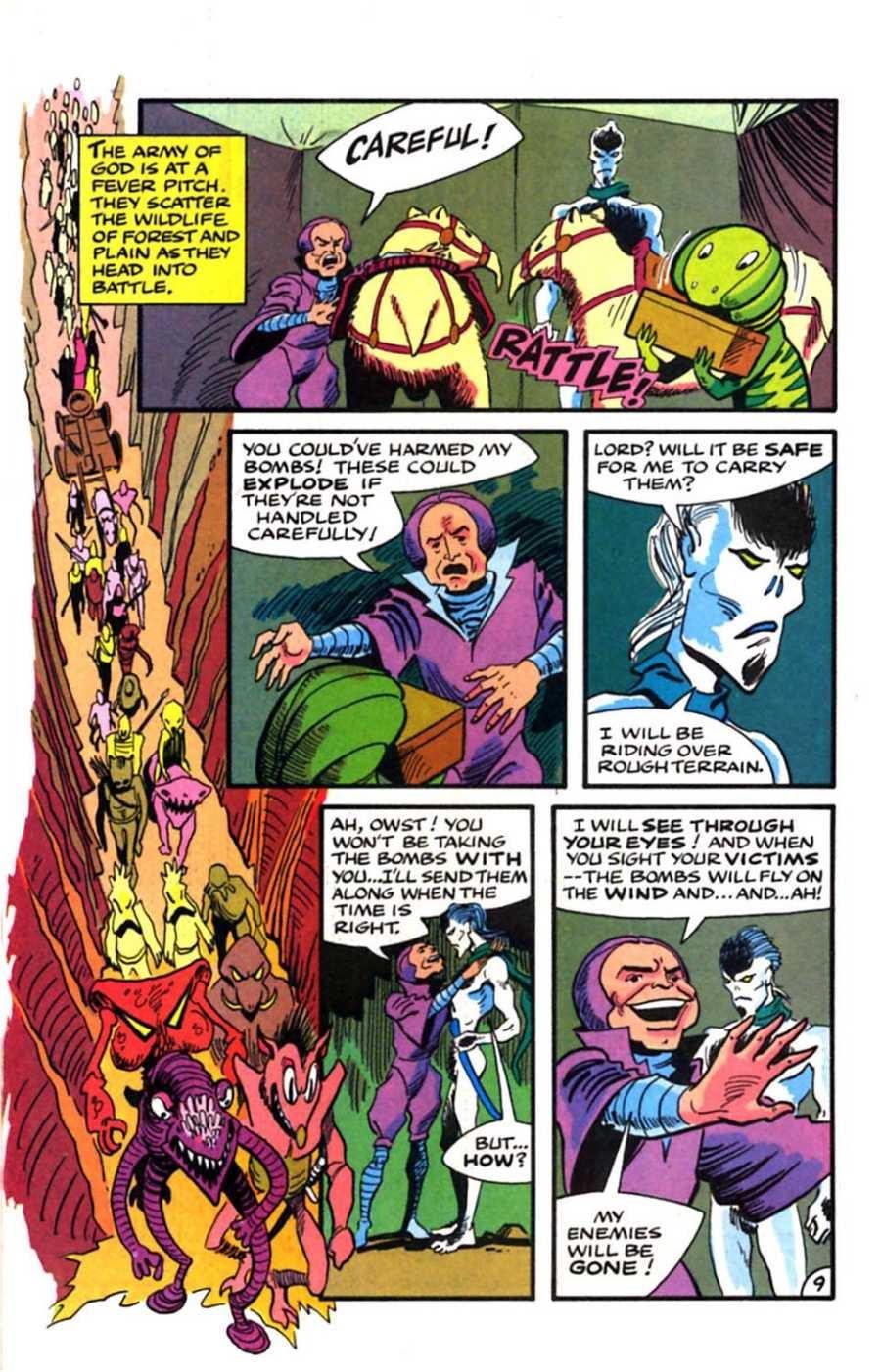Read online Mars comic -  Issue #9 - 11