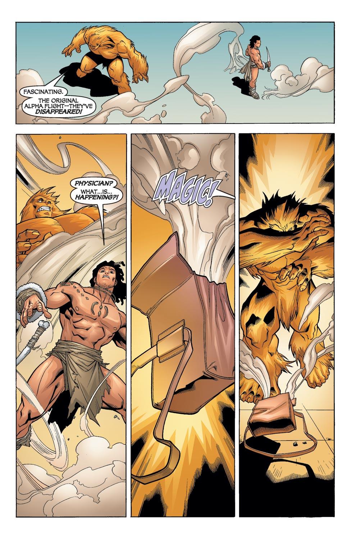 Read online Alpha Flight (2004) comic -  Issue #12 - 16