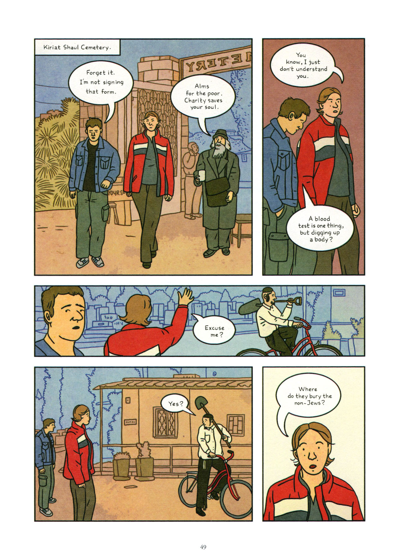Read online Exit Wounds comic -  Issue # TPB - 50