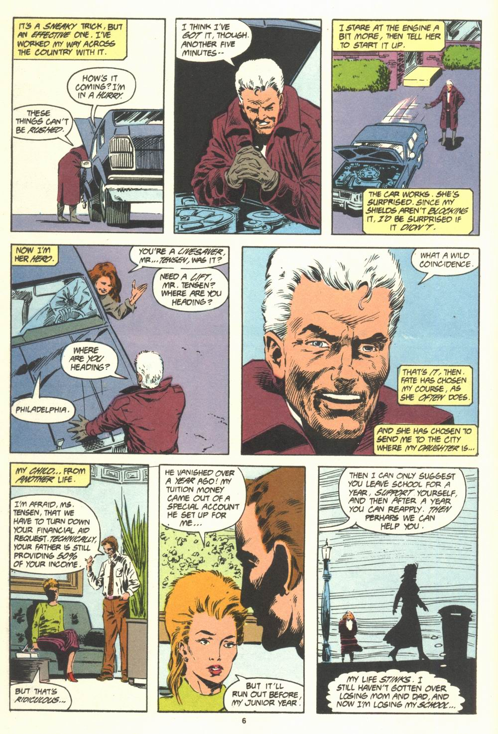 Read online Justice (1986) comic -  Issue #19 - 8