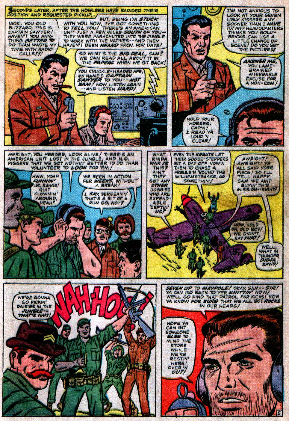 Read online Sgt. Fury comic -  Issue #17 - 9