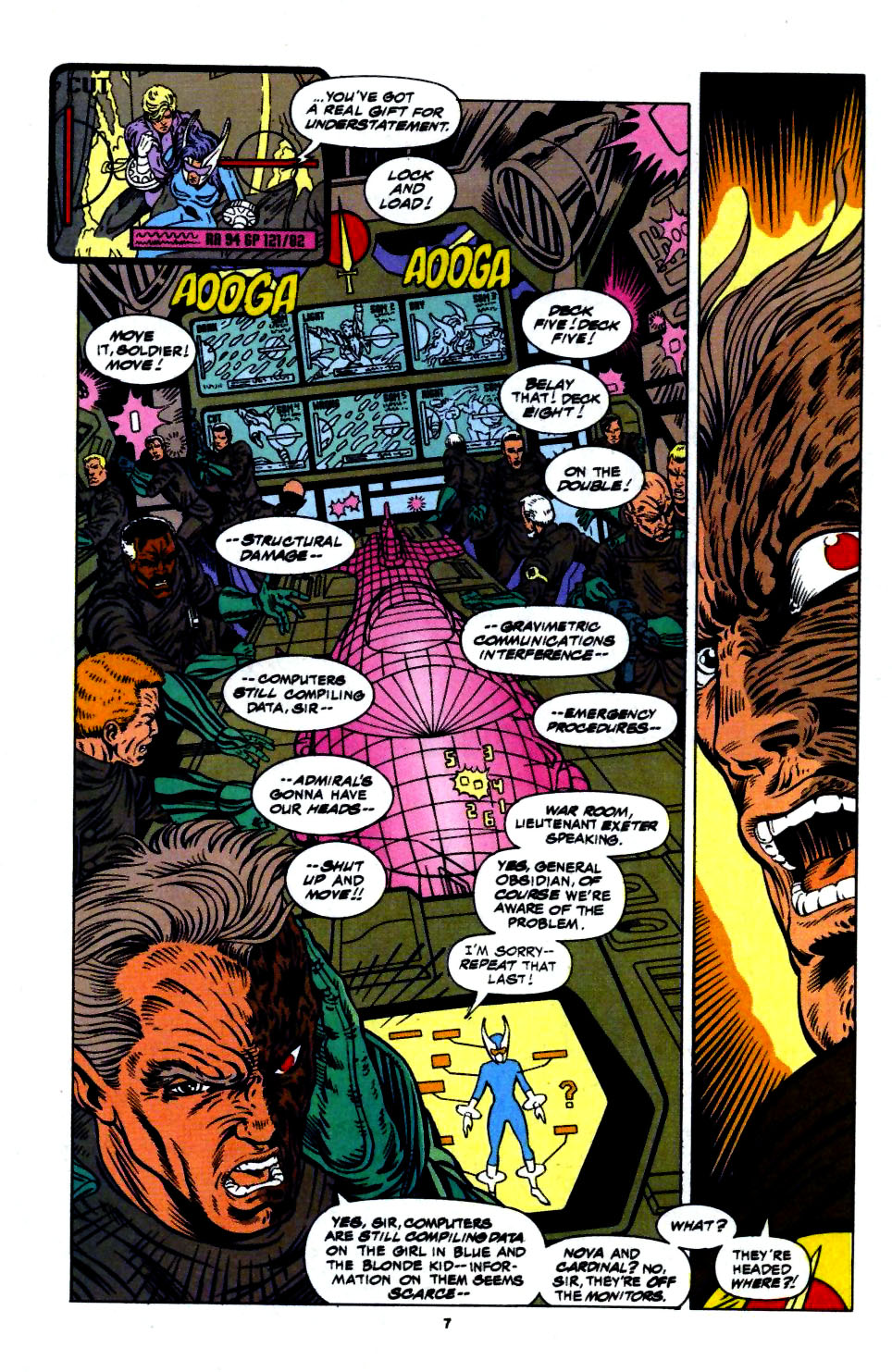 The New Warriors Issue #56 #60 - English 7