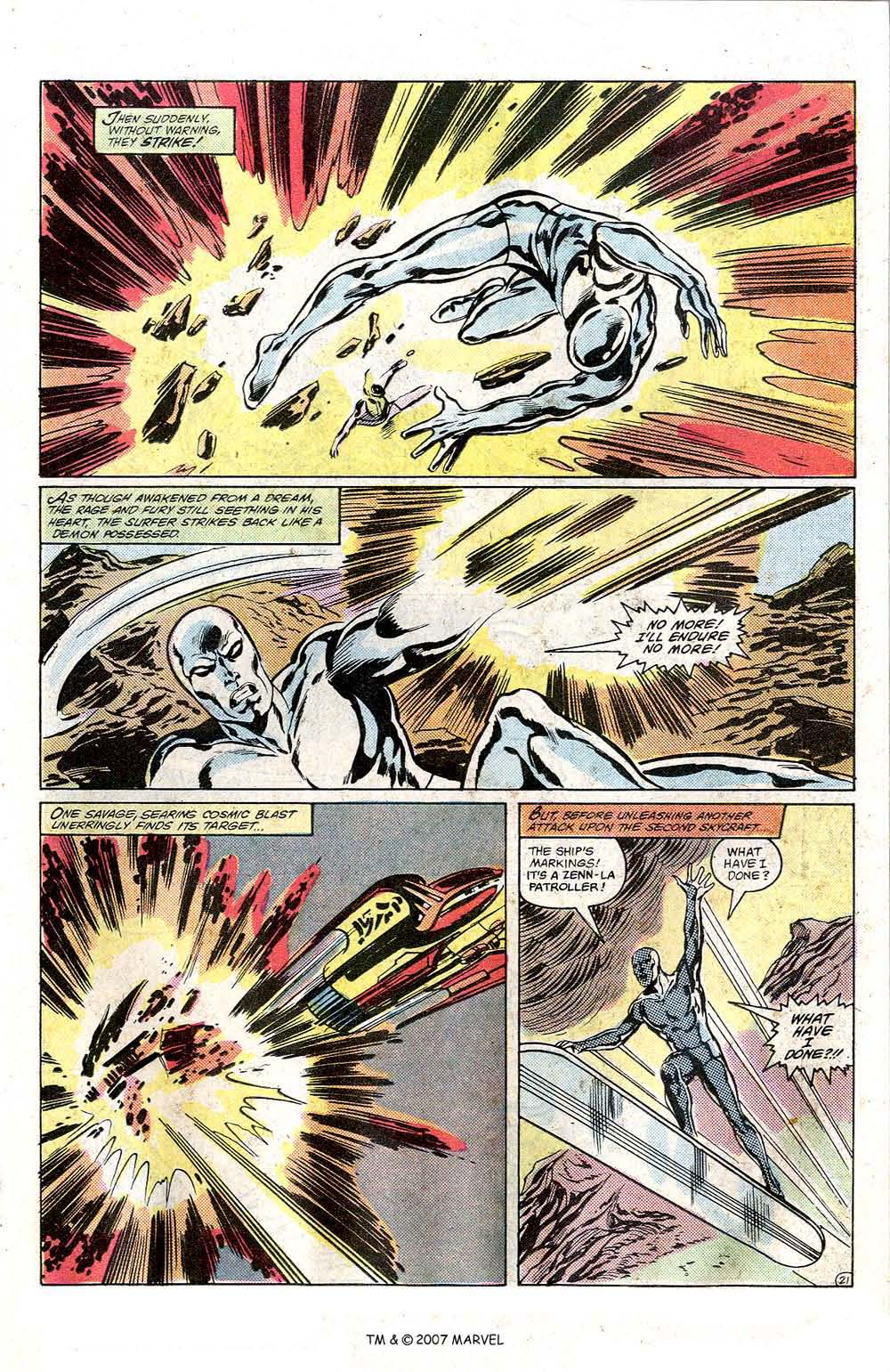 Read online Silver Surfer (1982) comic -  Issue # Full - 23