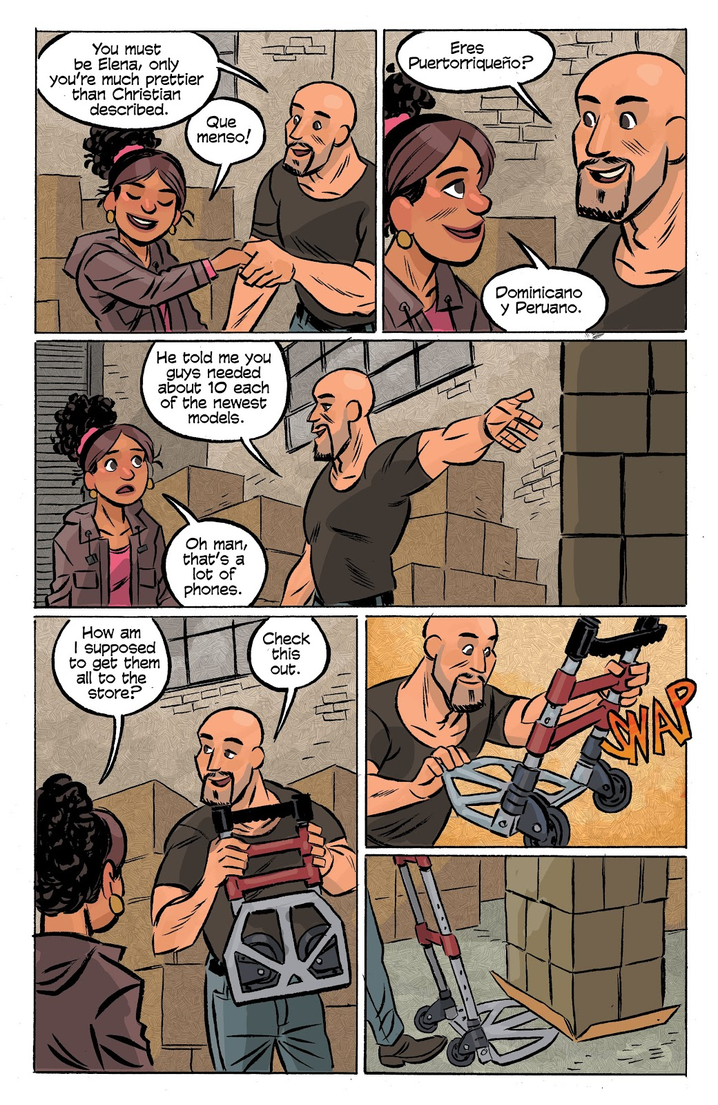 Read online Cellies comic -  Issue #6 - 21