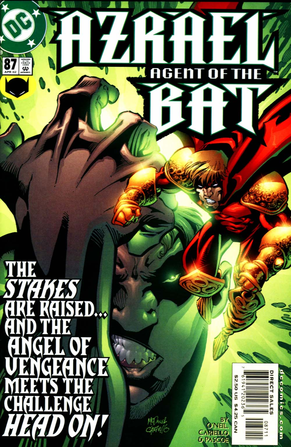 Azrael: Agent of the Bat 87 Page 1