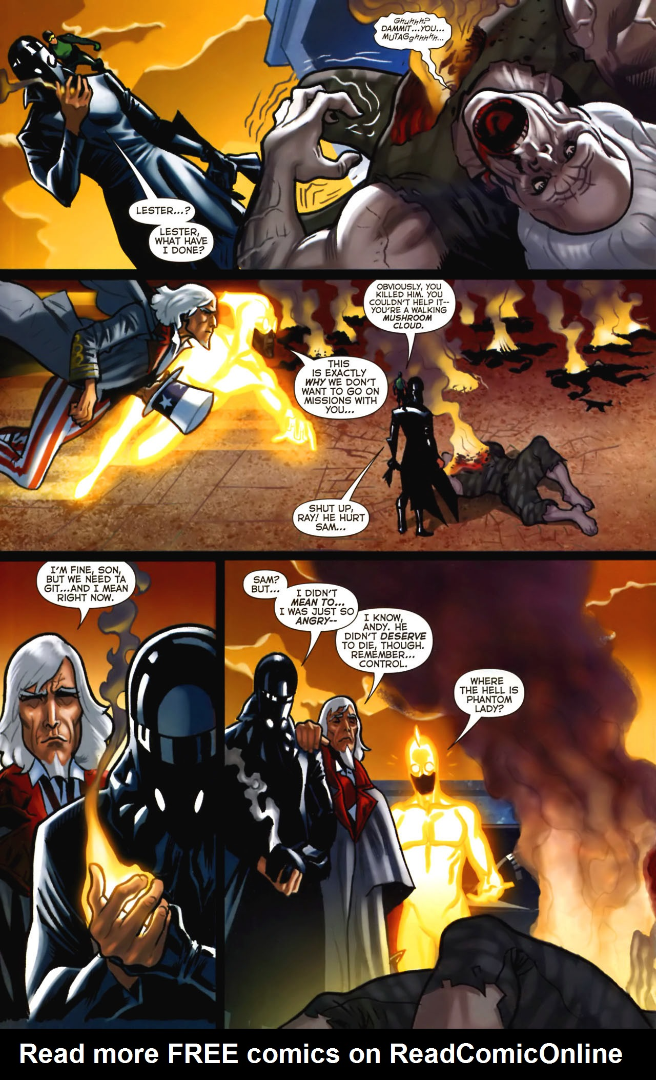 Read online Uncle Sam and the Freedom Fighters (2006) comic -  Issue #2 - 18