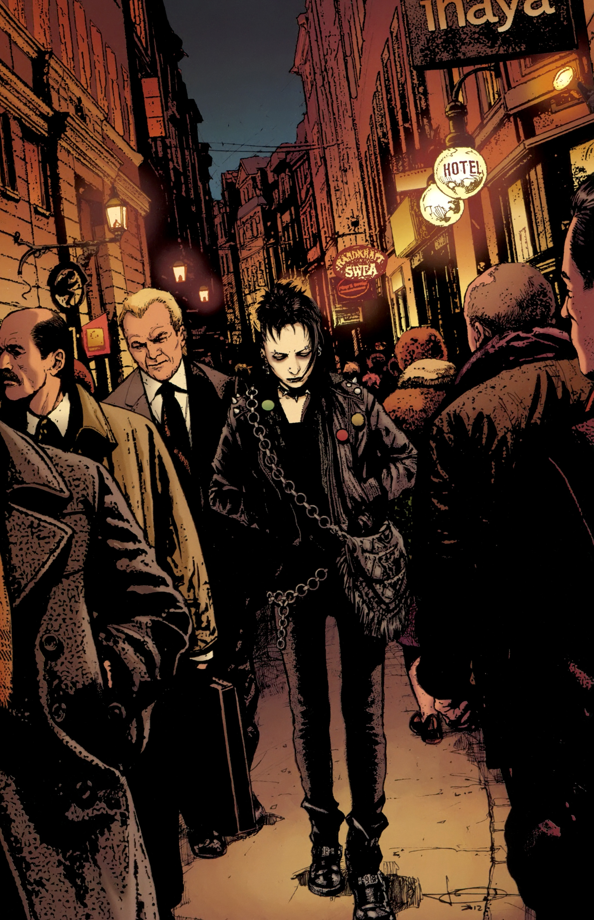 Read online The Girl With the Dragon Tattoo comic -  Issue # TPB 1 - 75
