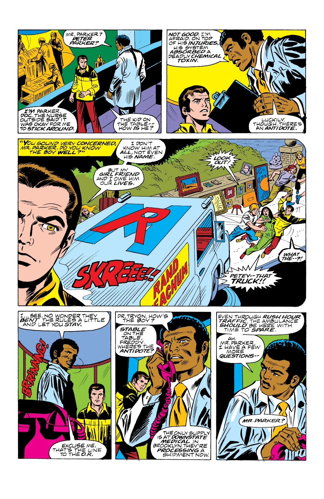 Read online Marvel Masterworks: The Spectacular Spider-Man comic -  Issue # TPB (Part 2) - 76