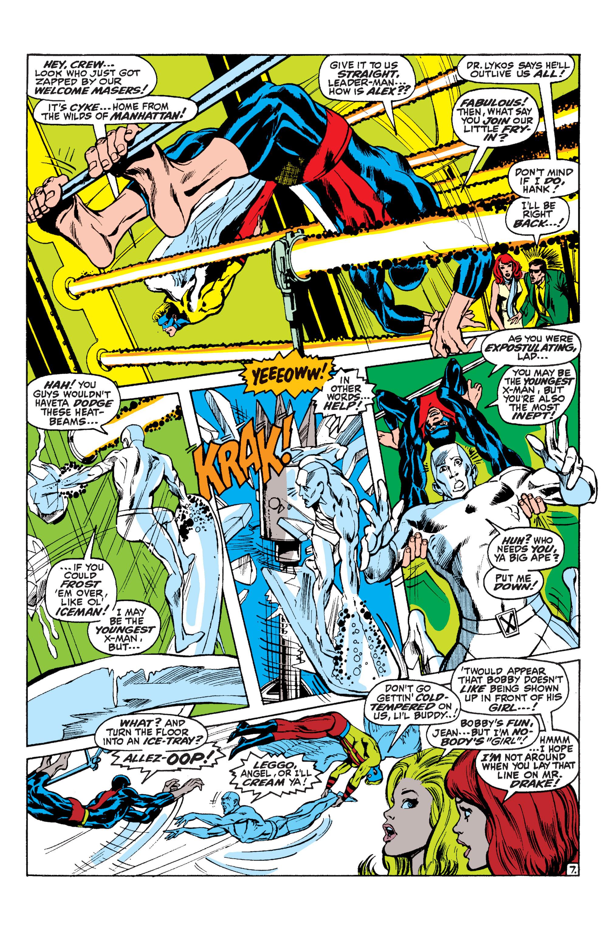 Read online Uncanny X-Men (1963) comic -  Issue #60 - 7
