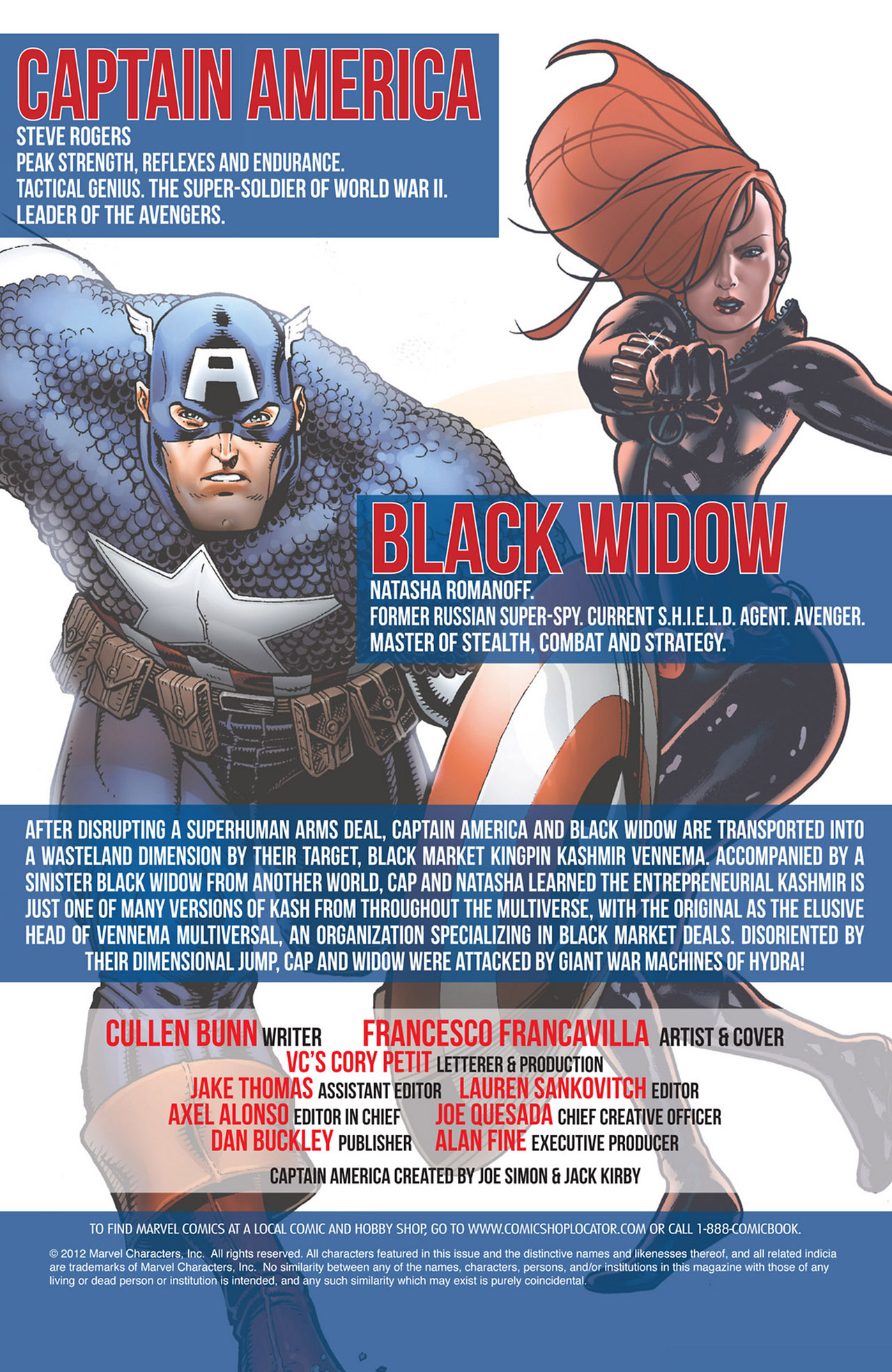 Read online Captain America And Black Widow comic -  Issue #638 - 2