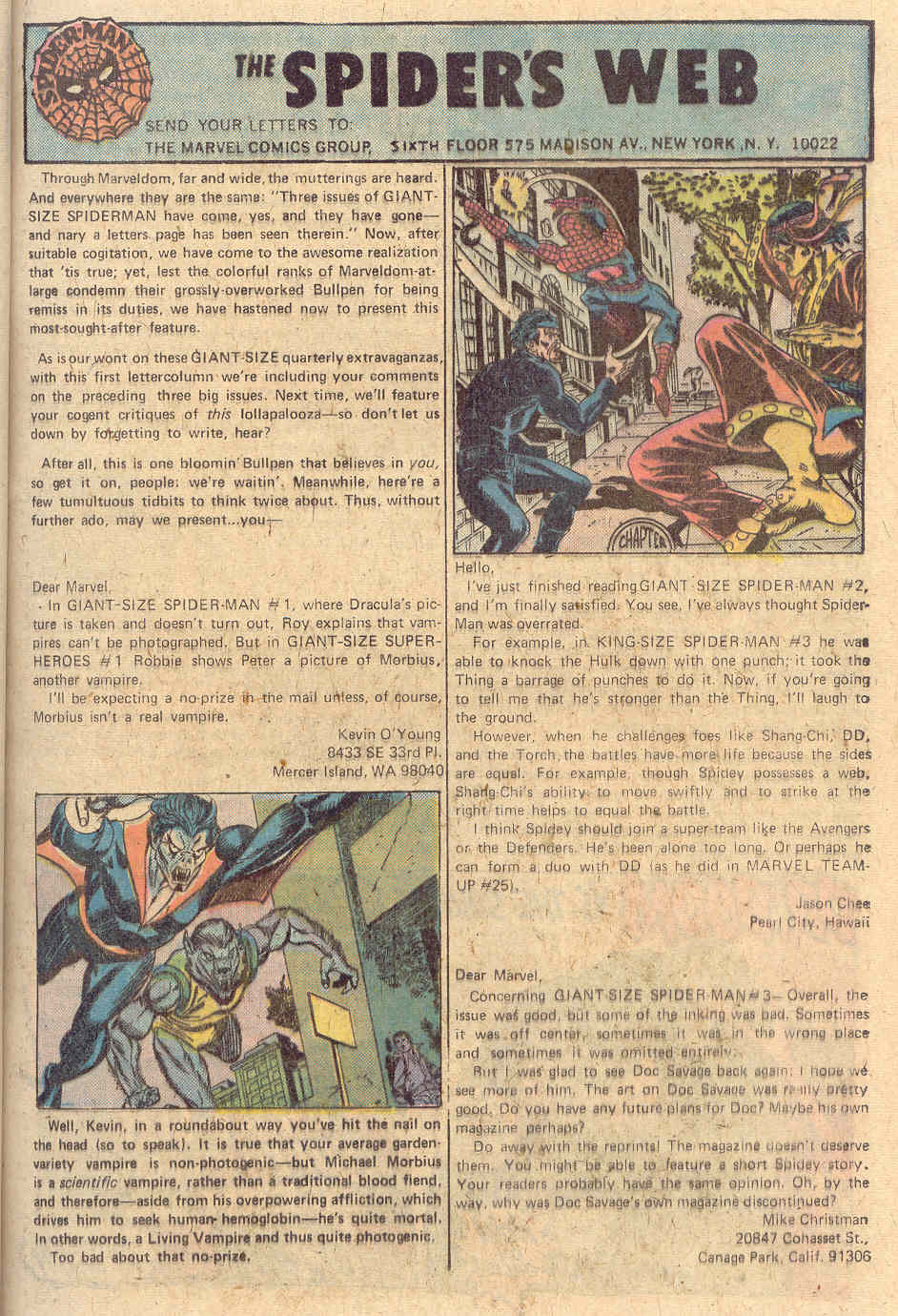Giant-Size Spider-Man (1974) issue 4 - Page 30