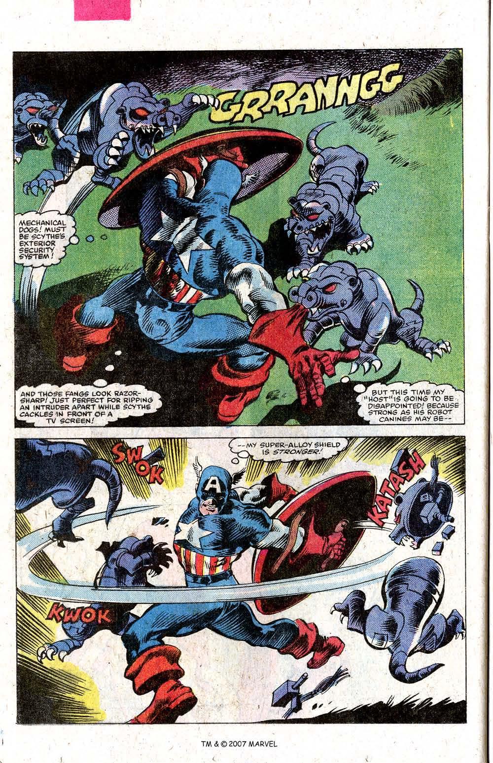 Read online Captain America (1968) comic -  Issue # _Annual 5 - 40