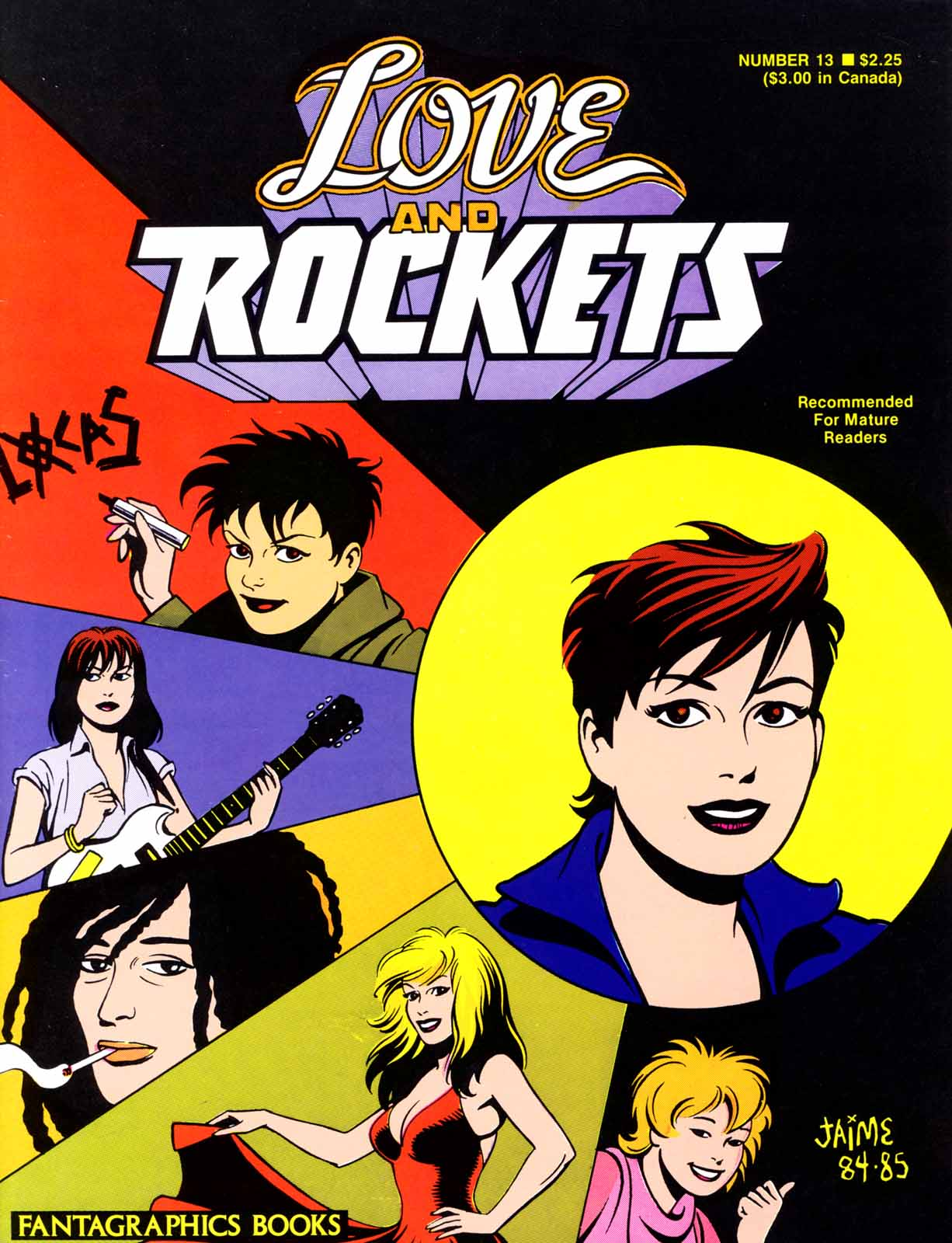 Love and Rockets (1982) issue 13 - Page 1