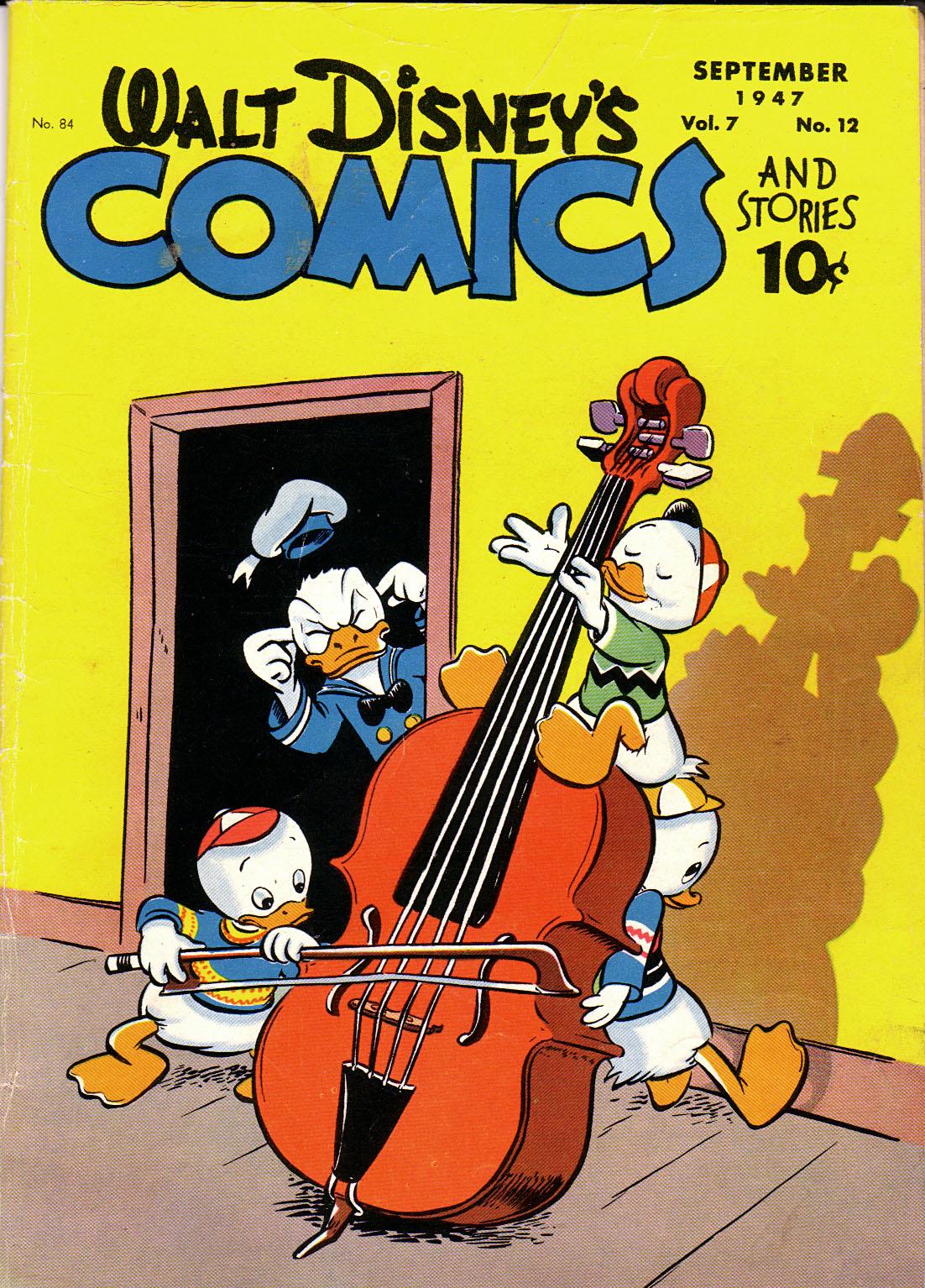 Walt Disneys Comics and Stories 84 Page 1