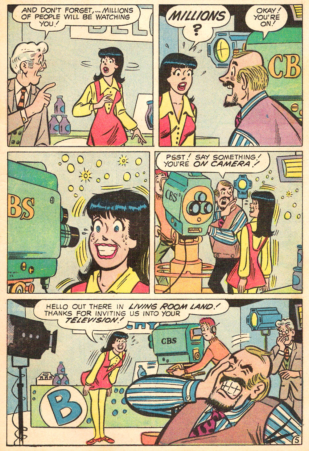 Read online Archie's Girls Betty and Veronica comic -  Issue #169 - 17