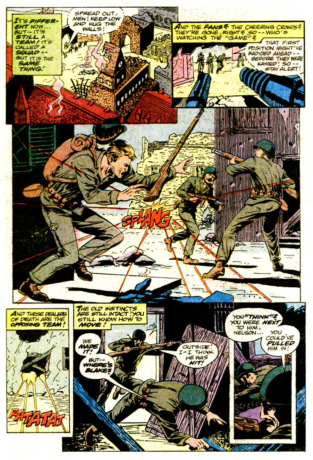 Read online Sgt. Rock comic -  Issue #364 - 29