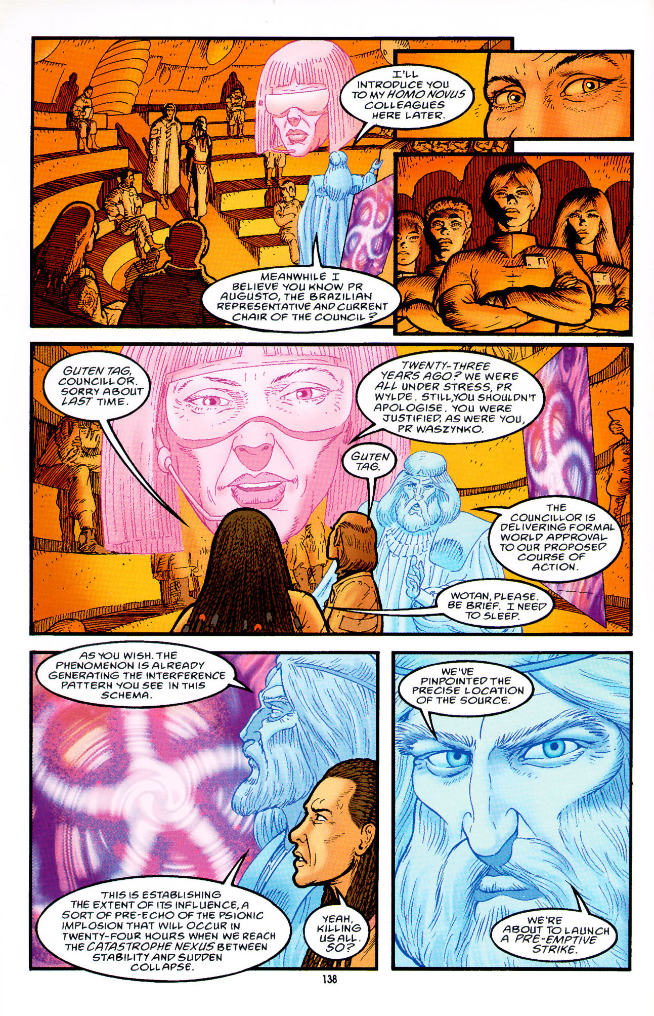 Read online Heart of Empire comic -  Issue #5 - 14