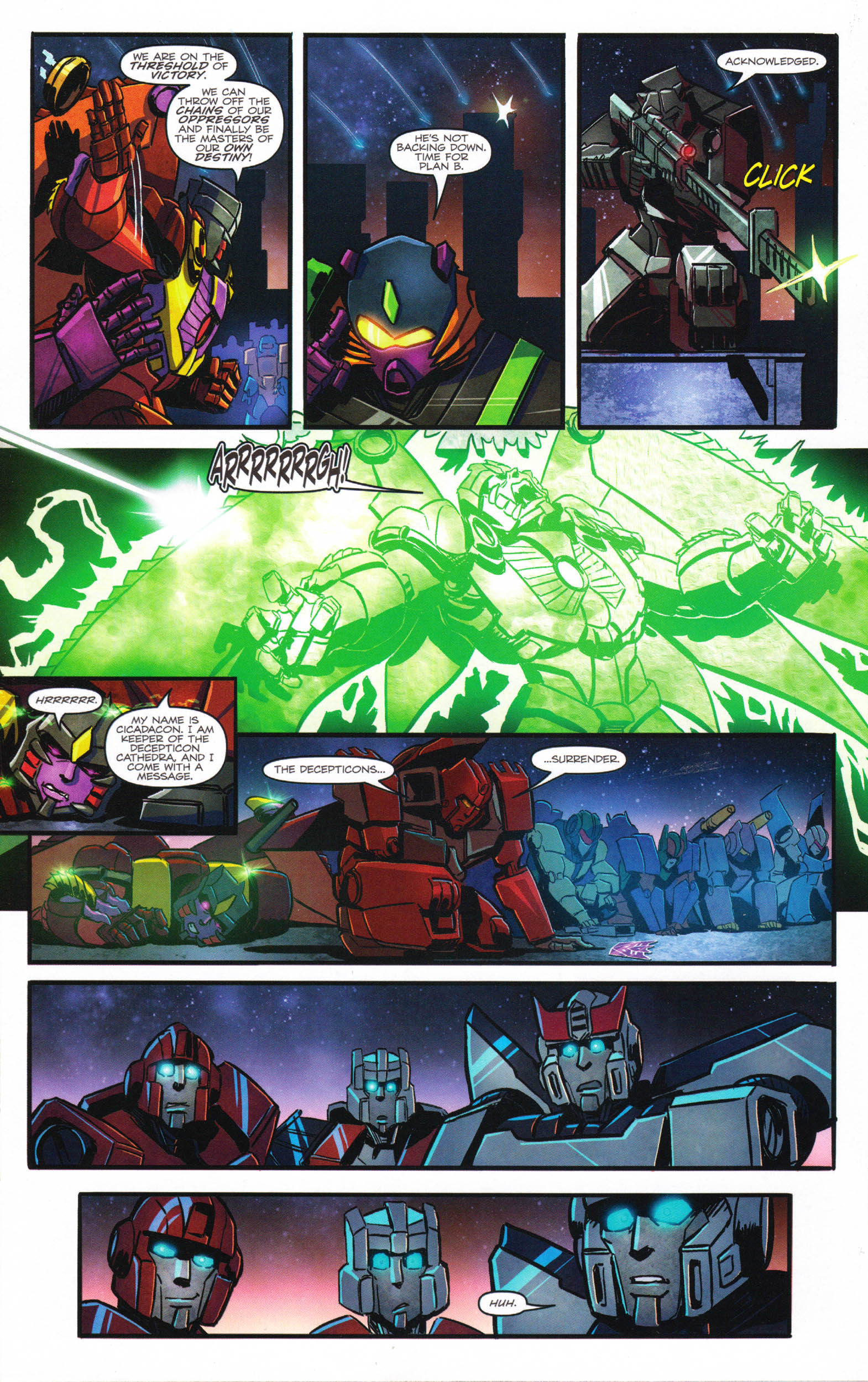 Read online Transformers: Dawn of the Predacus comic -  Issue # Full - 21