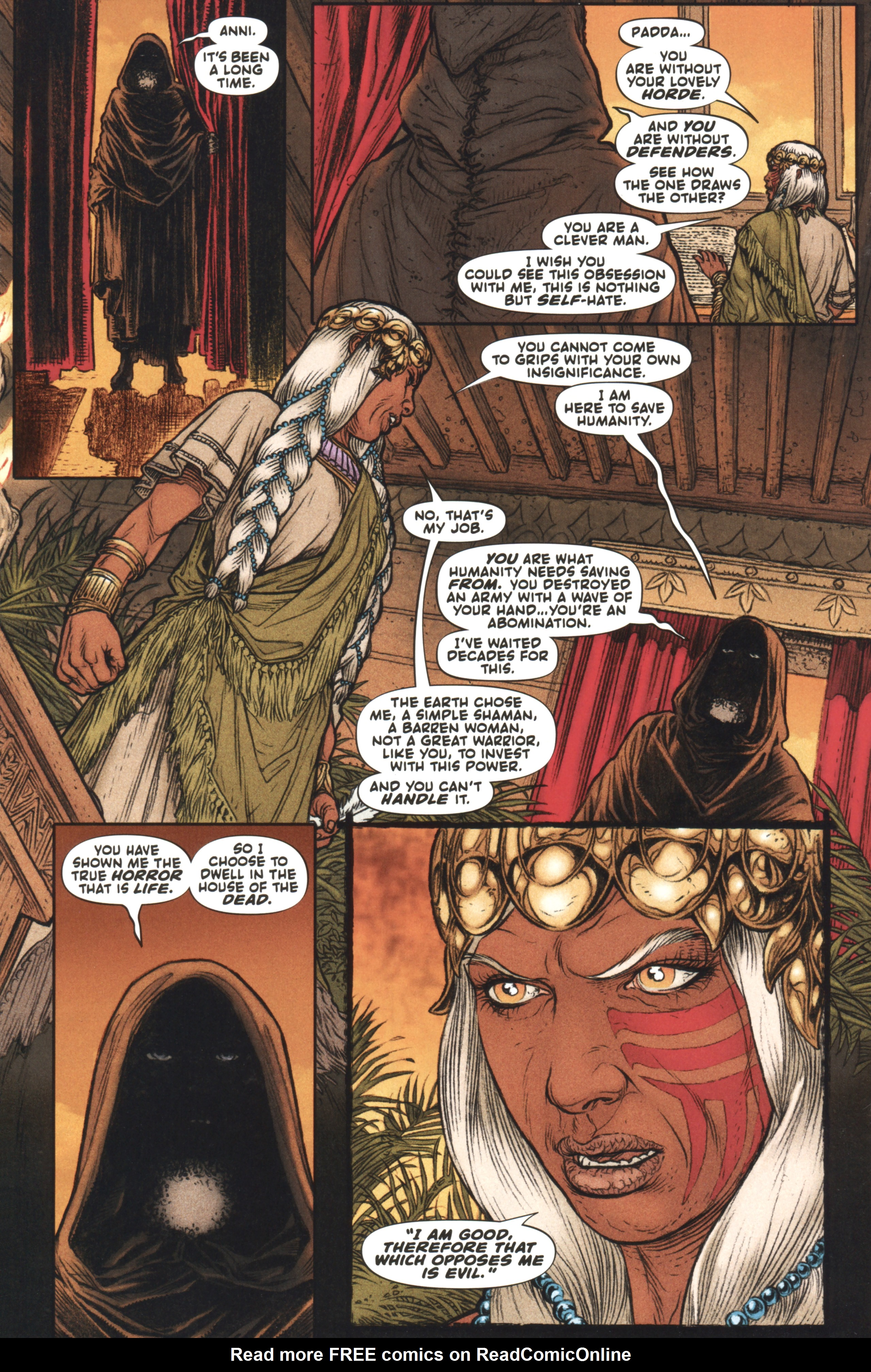 Read online Book of Death: Legends of the Geomancer comic -  Issue #4 - 13