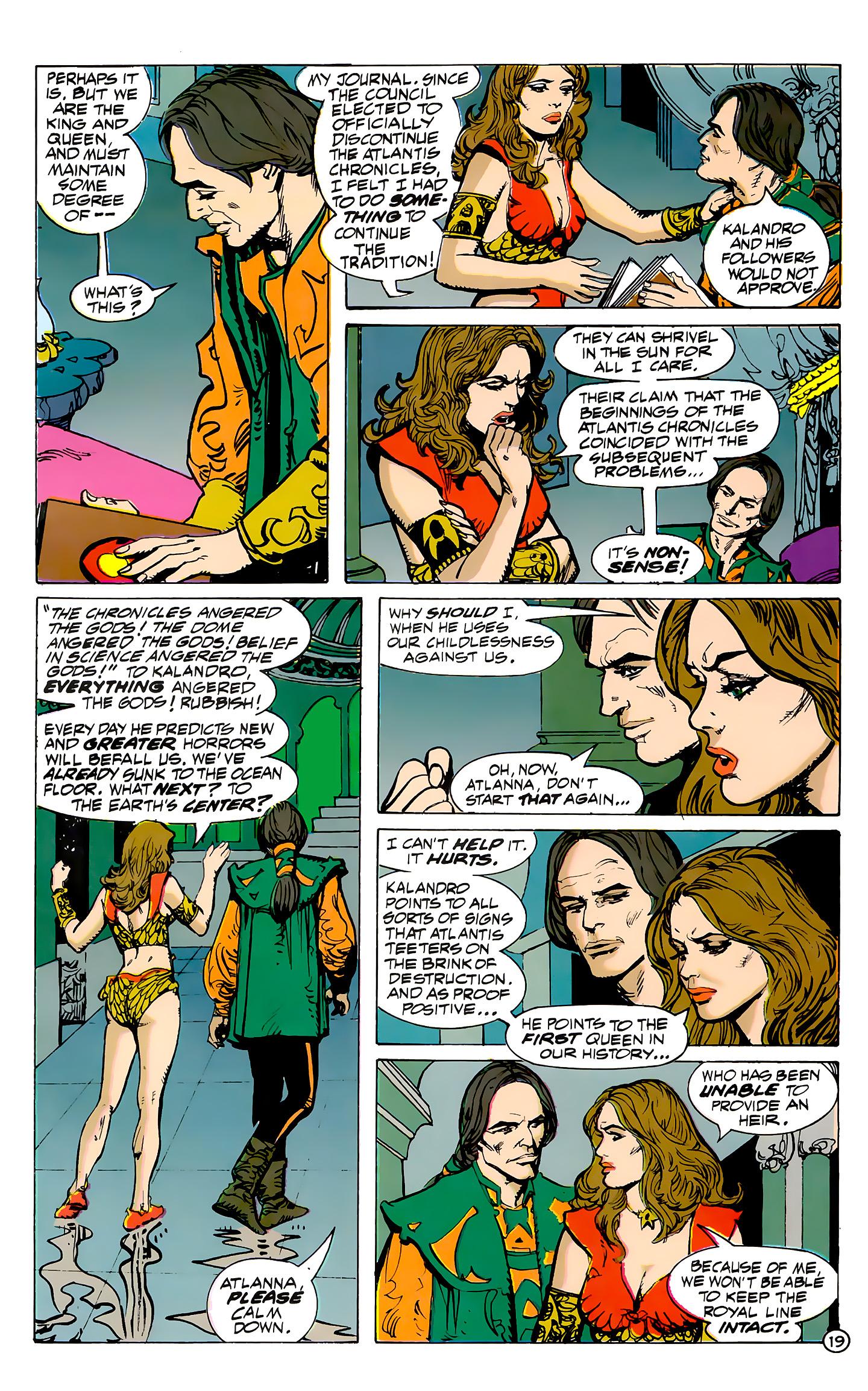 Read online Atlantis Chronicles comic -  Issue #7 - 20