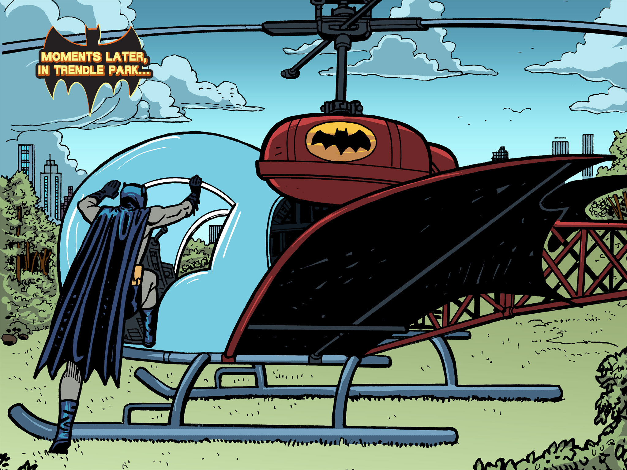 Read online Batman '66 Meets the Green Hornet [II] comic -  Issue #5 - 30