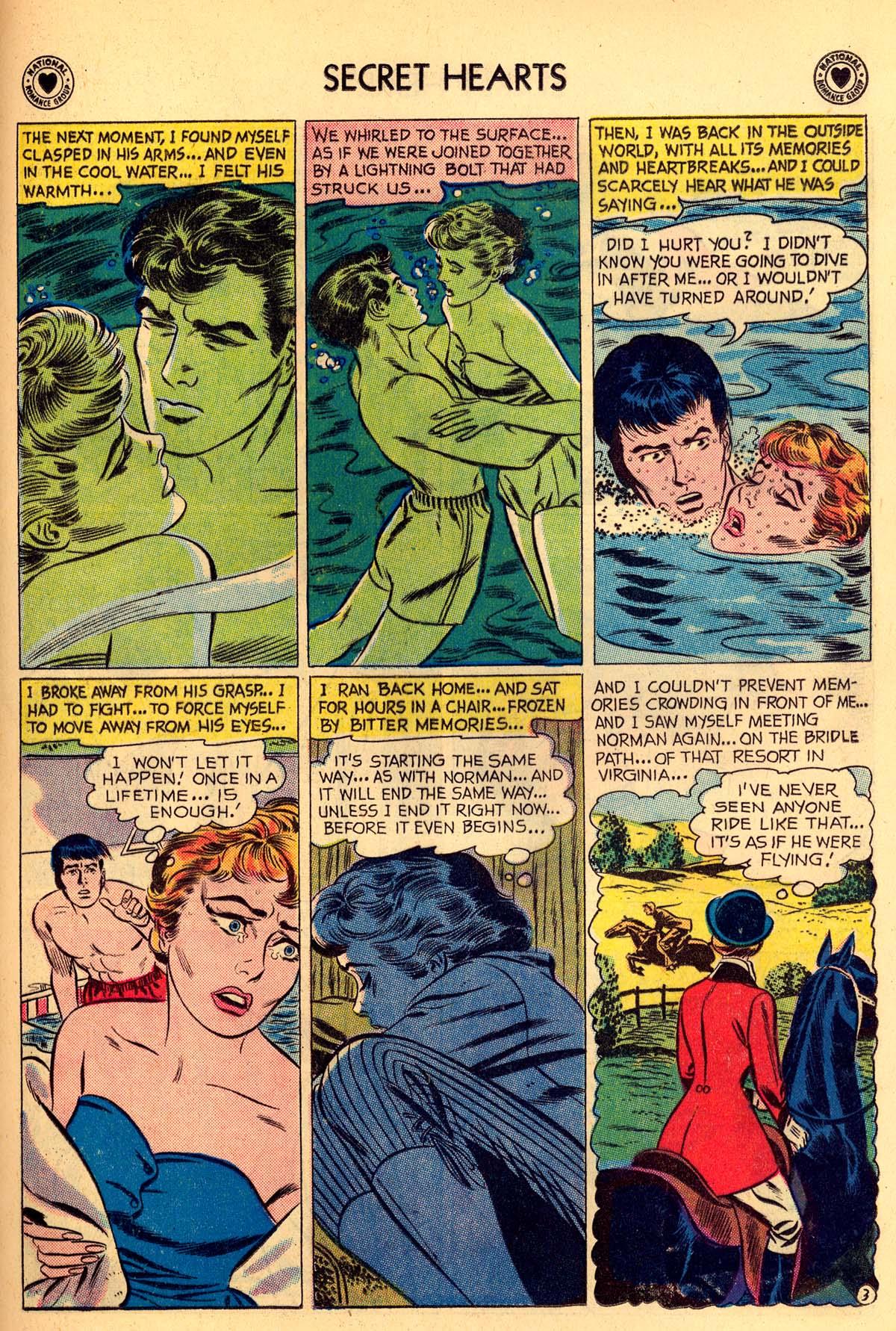 Read online Secret Hearts comic -  Issue #55 - 29