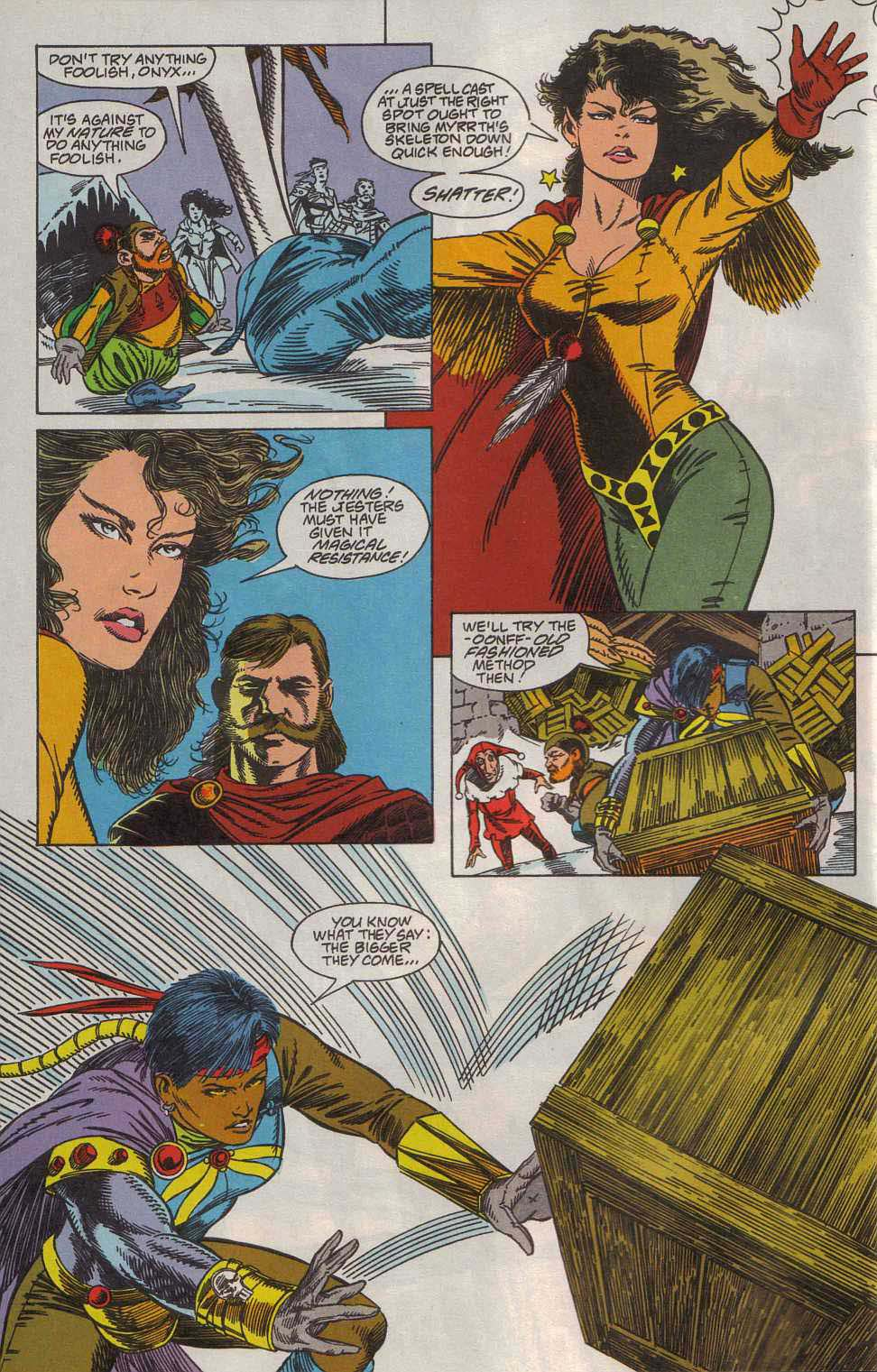 Read online Advanced Dungeons & Dragons comic -  Issue #7 - 5