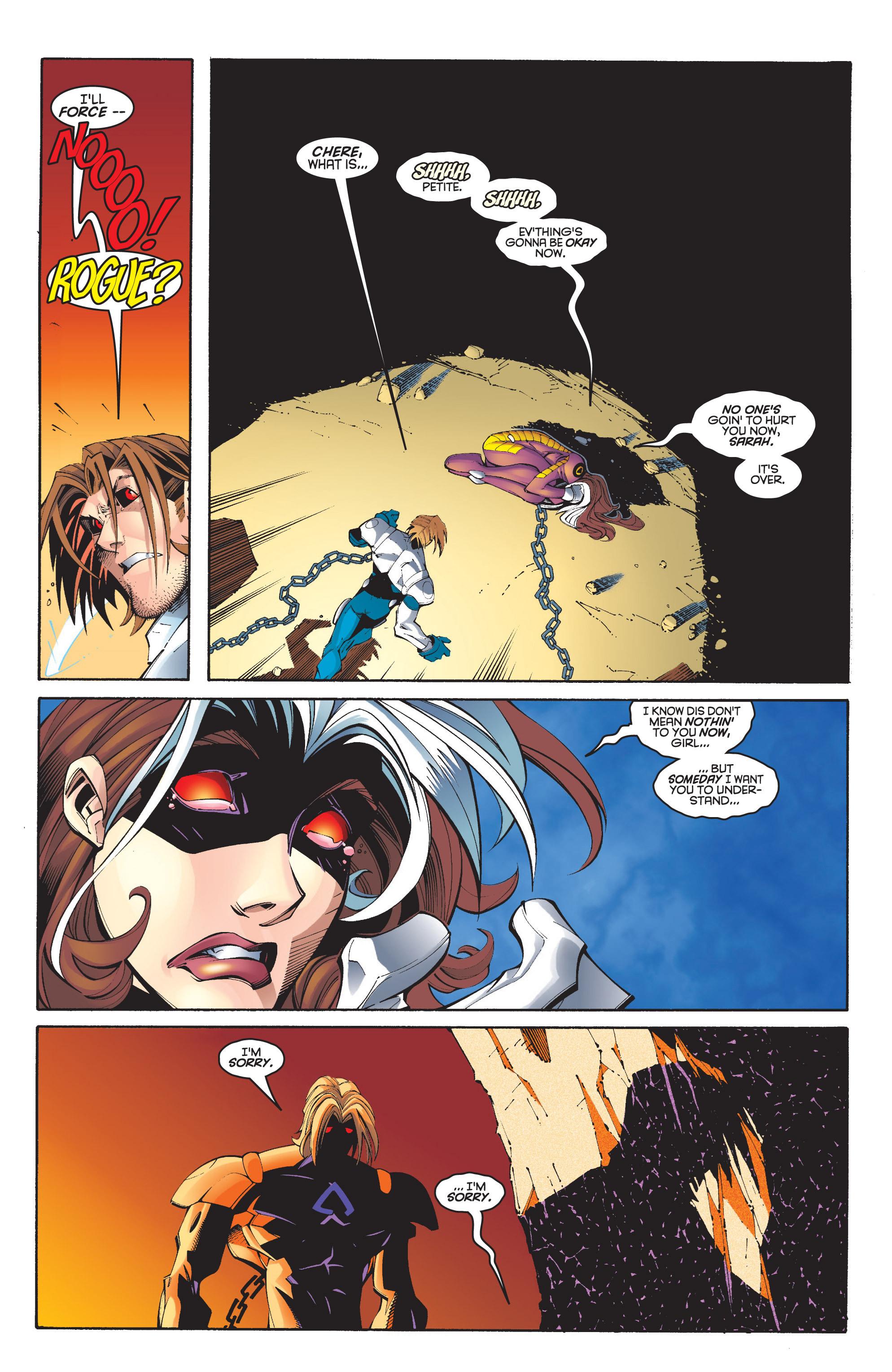 Read online Uncanny X-Men (1963) comic -  Issue #348 - 19