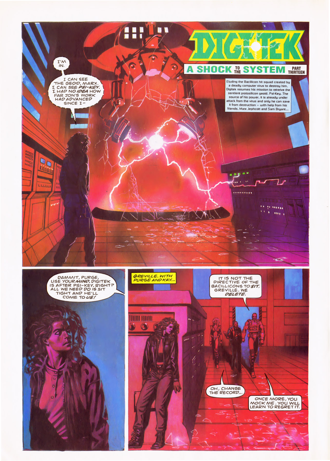 Read online Overkill comic -  Issue #24 - 12