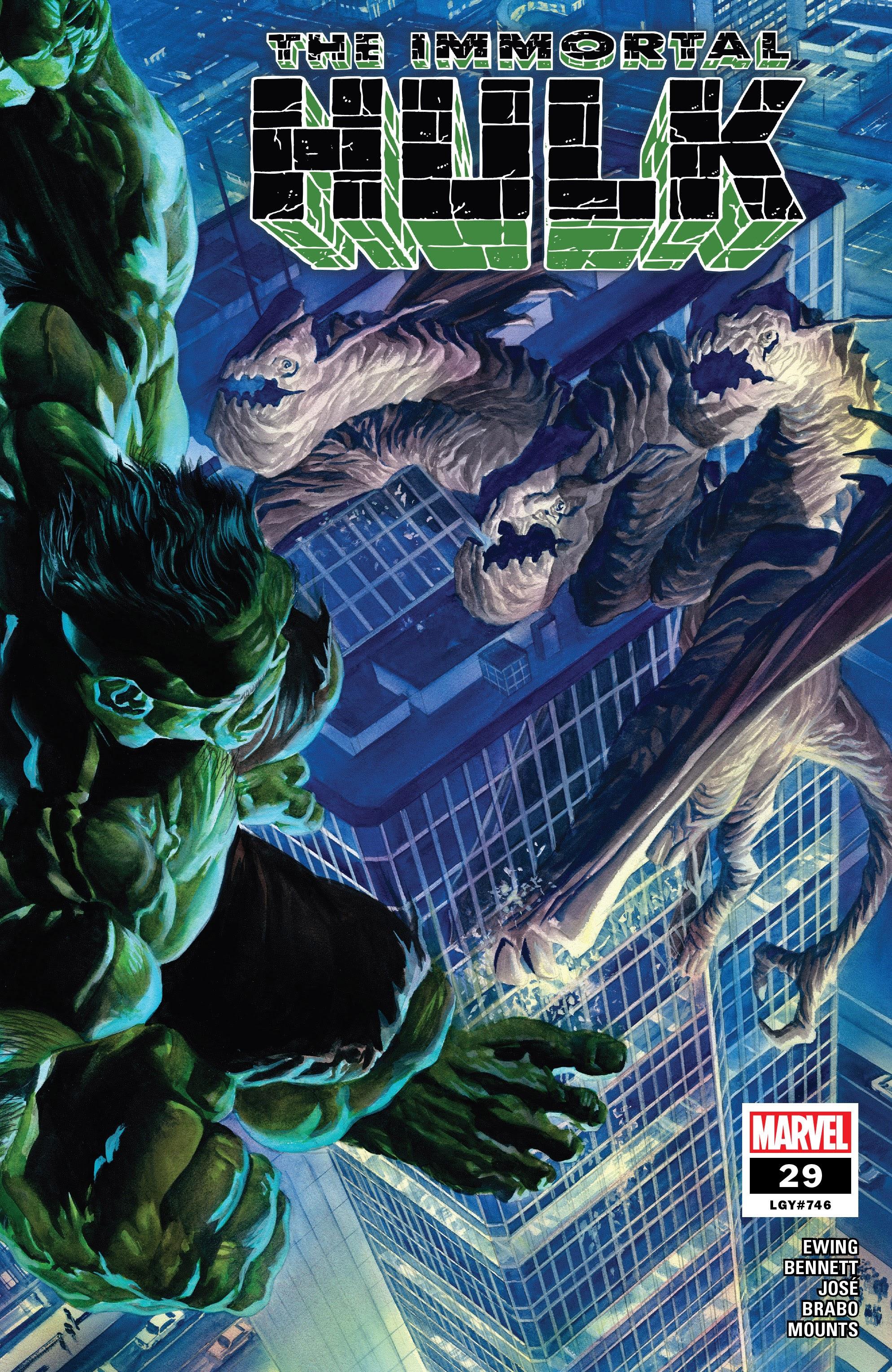 Immortal Hulk (2018) issue 29 - Page 1