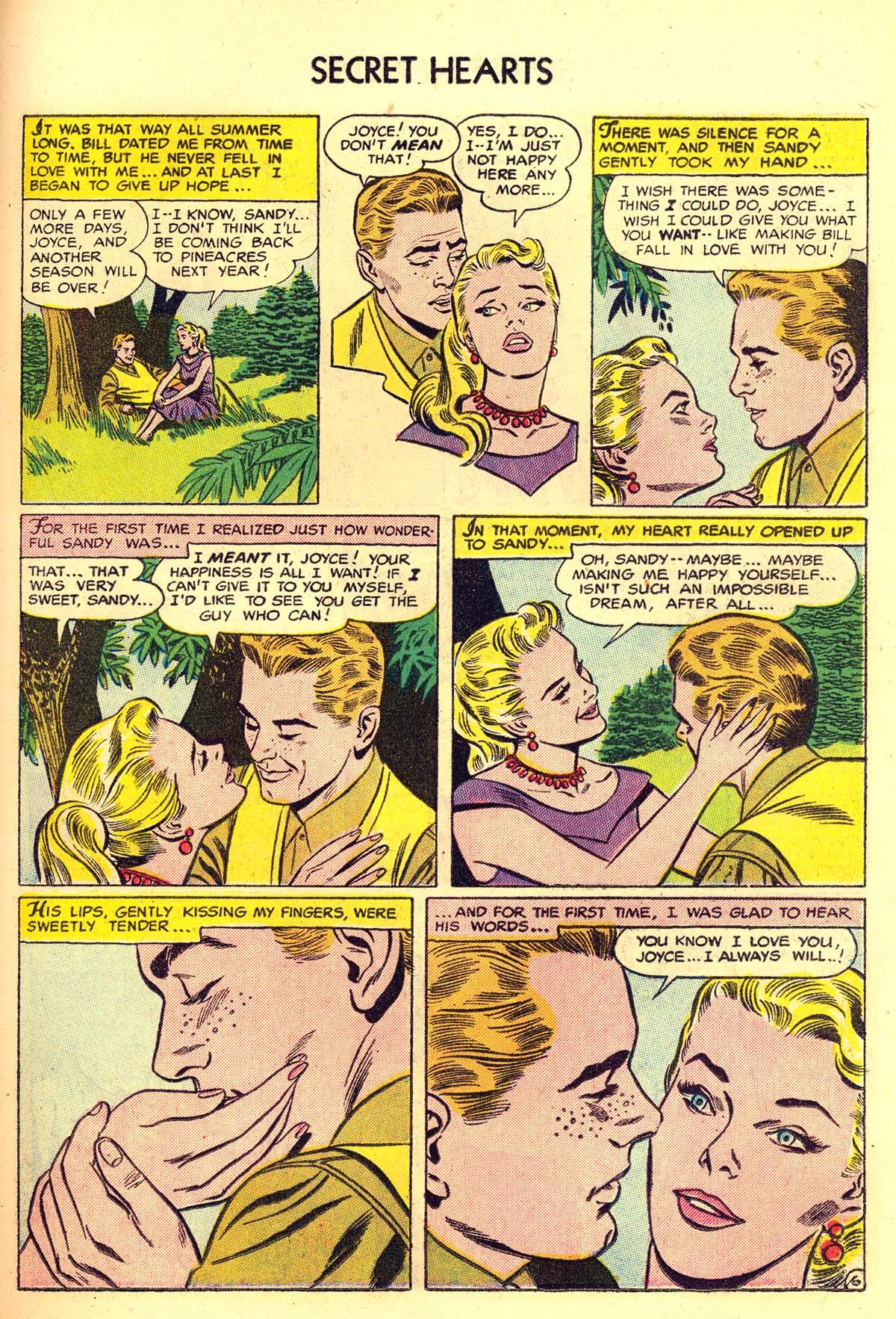 Read online Secret Hearts comic -  Issue #34 - 23
