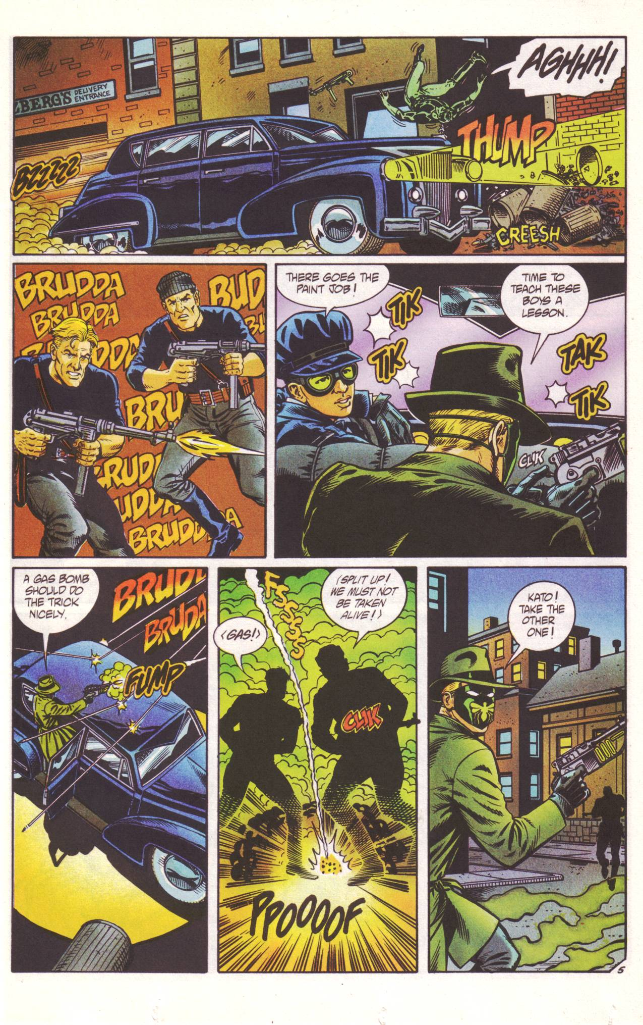 Read online Sting of The Green Hornet comic -  Issue #2 - 6