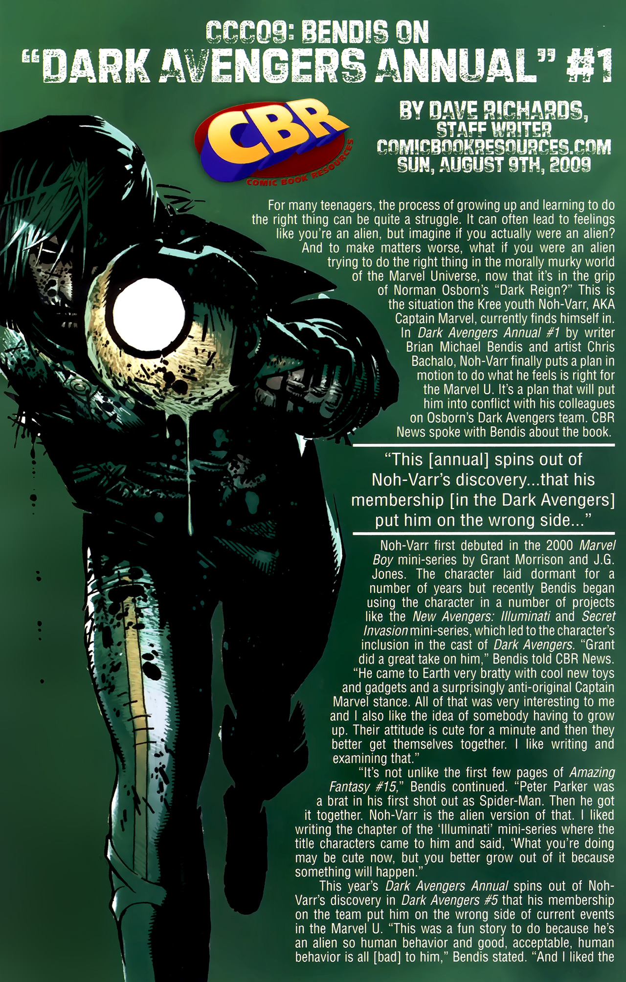 Read online Dark Avengers (2009) comic -  Issue # _Annual 1 - 29