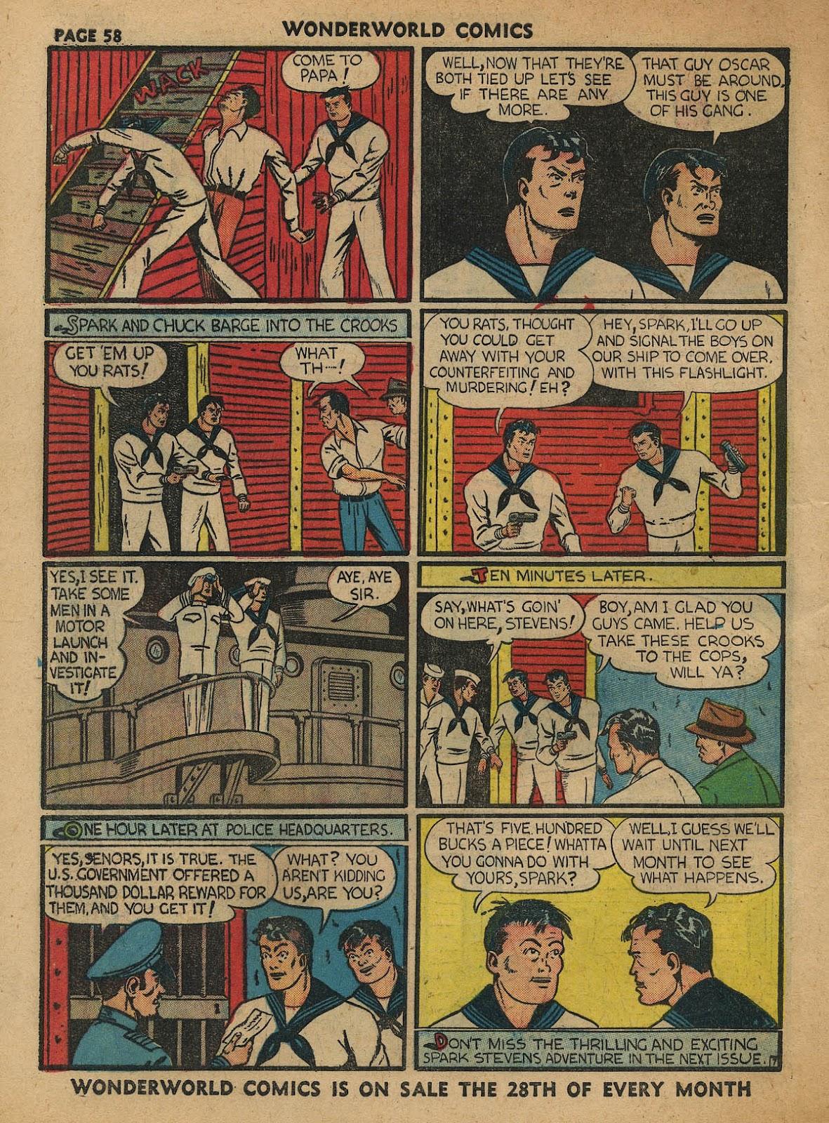Wonderworld Comics issue 23 - Page 59