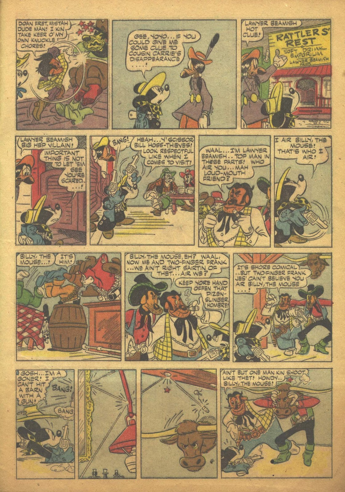 Walt Disney's Comics and Stories issue 63 - Page 49