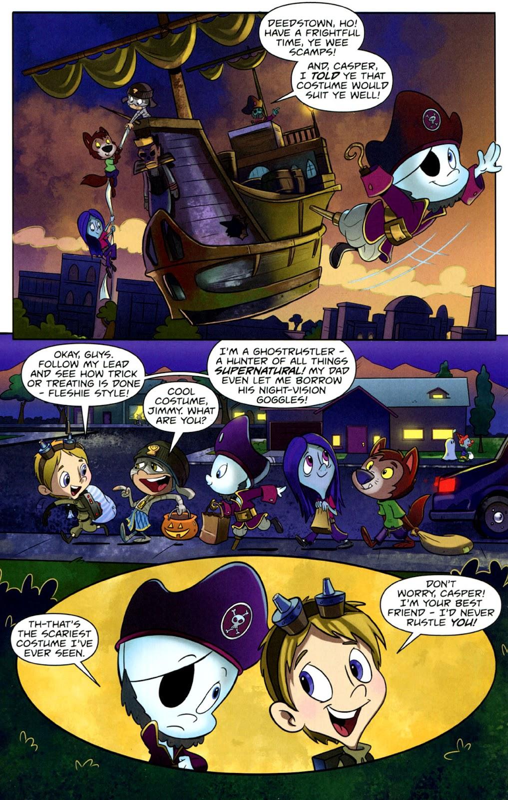 Read online Casper's Scare School comic -  Issue #1 - 6