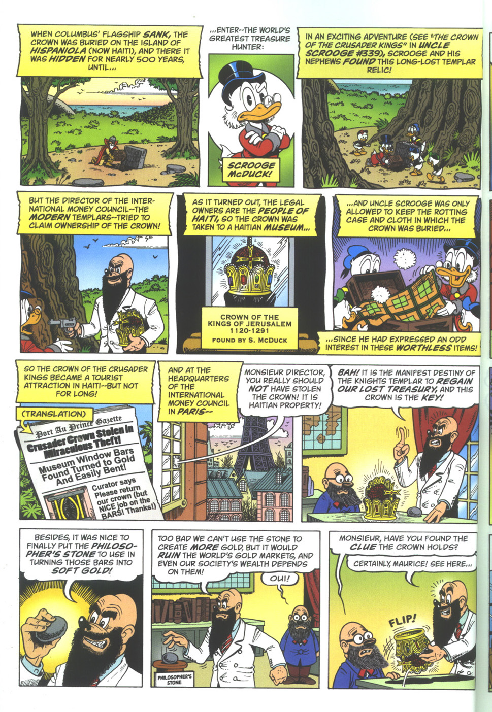 Read online Uncle Scrooge (1953) comic -  Issue #342 - 4