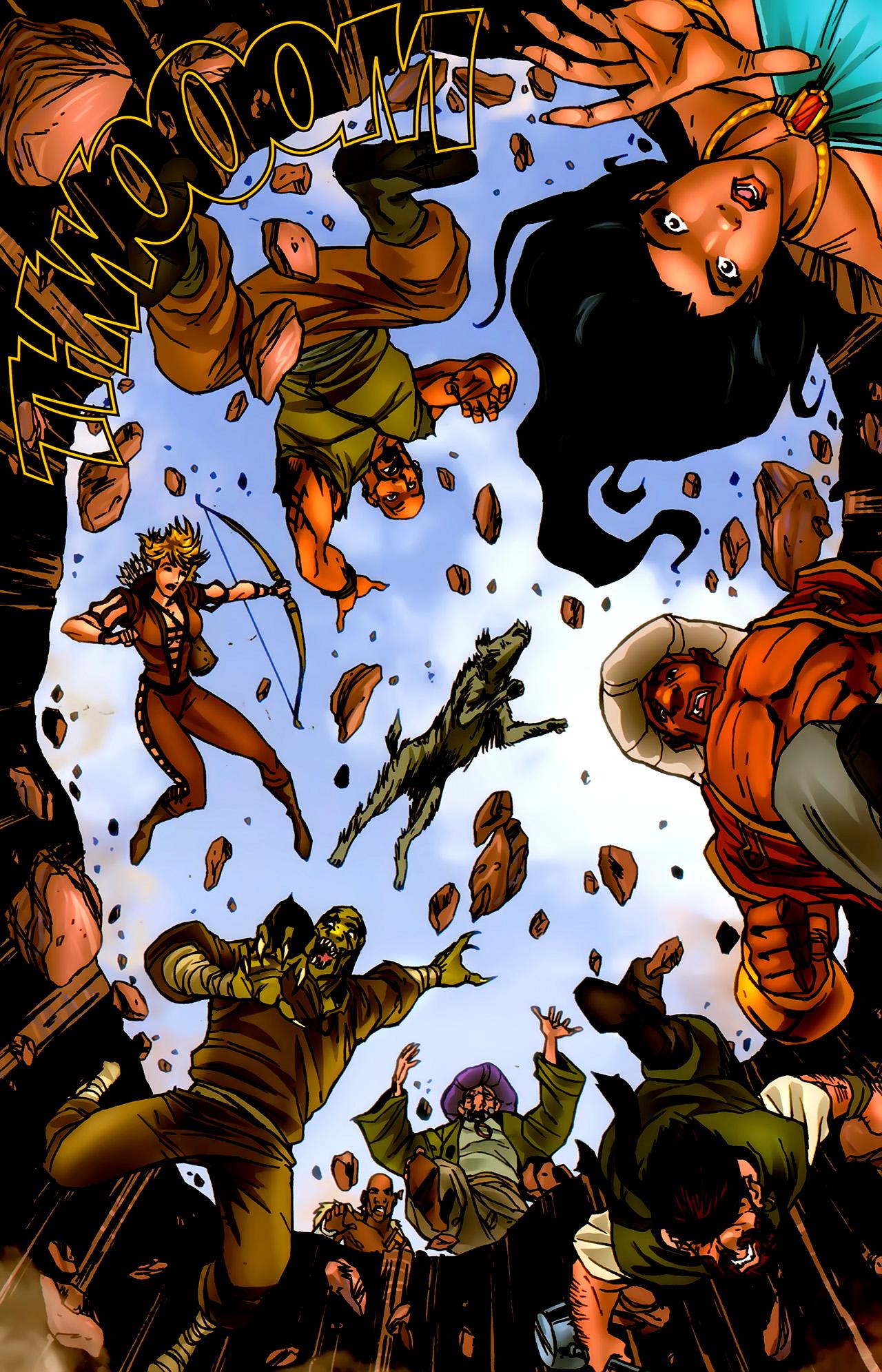 Read online 1001 Arabian Nights: The Adventures of Sinbad comic -  Issue #9 - 22