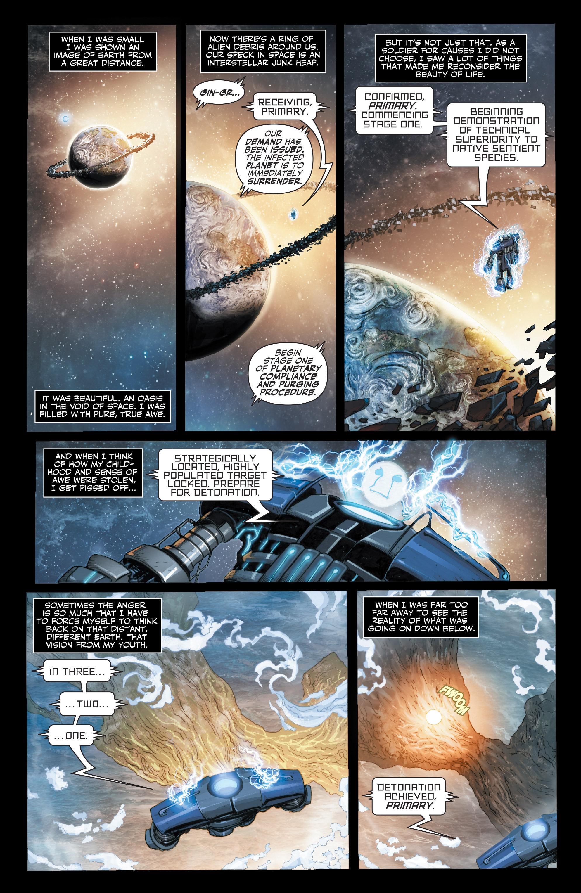 Read online Armor Hunters: Harbinger comic -  Issue # TPB - 8