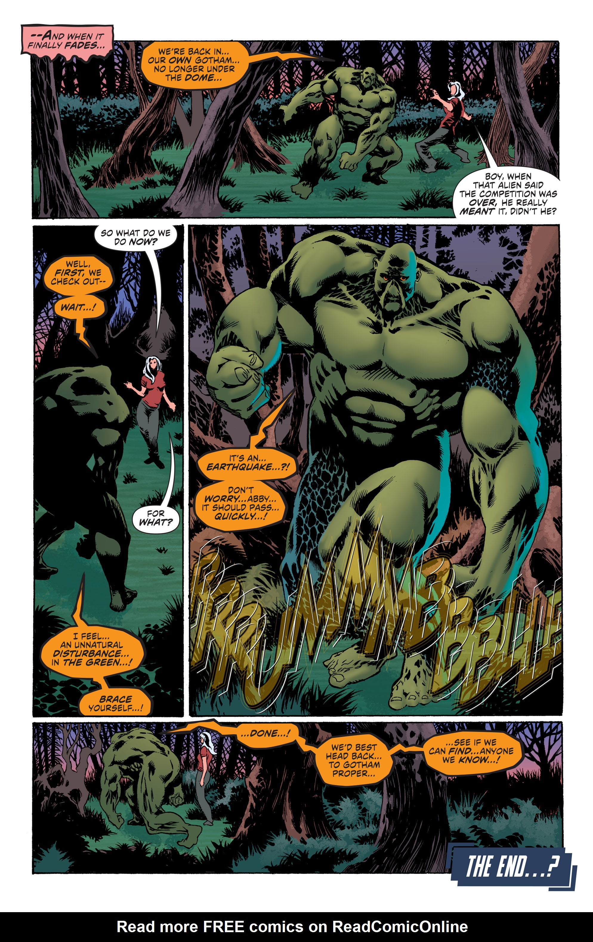 Read online Convergence Swamp Thing comic -  Issue #2 - 23