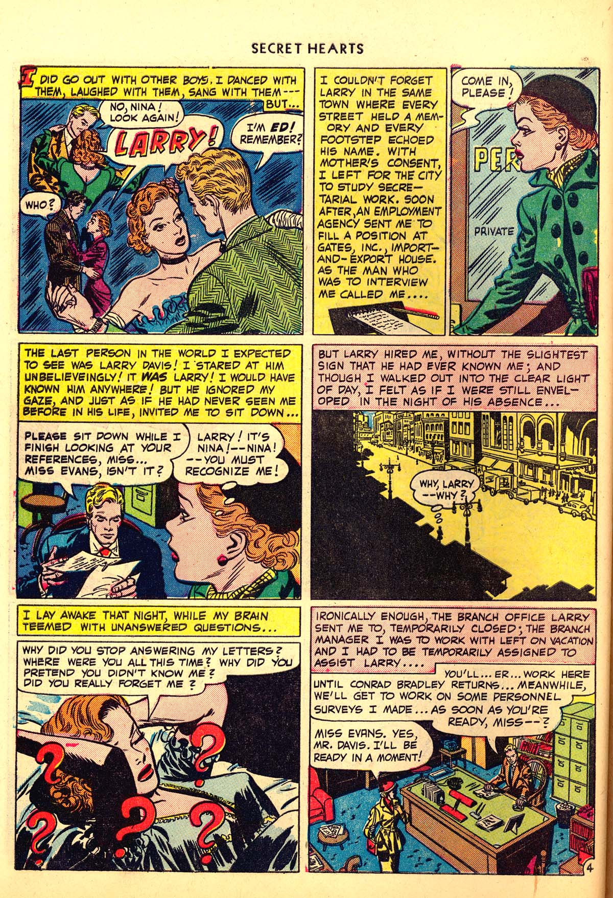 Read online Secret Hearts comic -  Issue #6 - 44