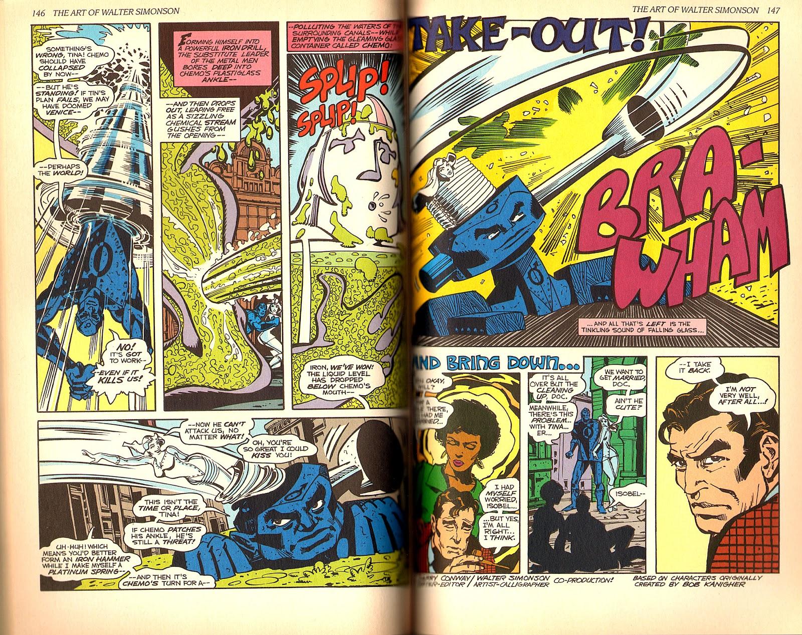 Read online The Art of Walter Simonson comic -  Issue # TPB - 75