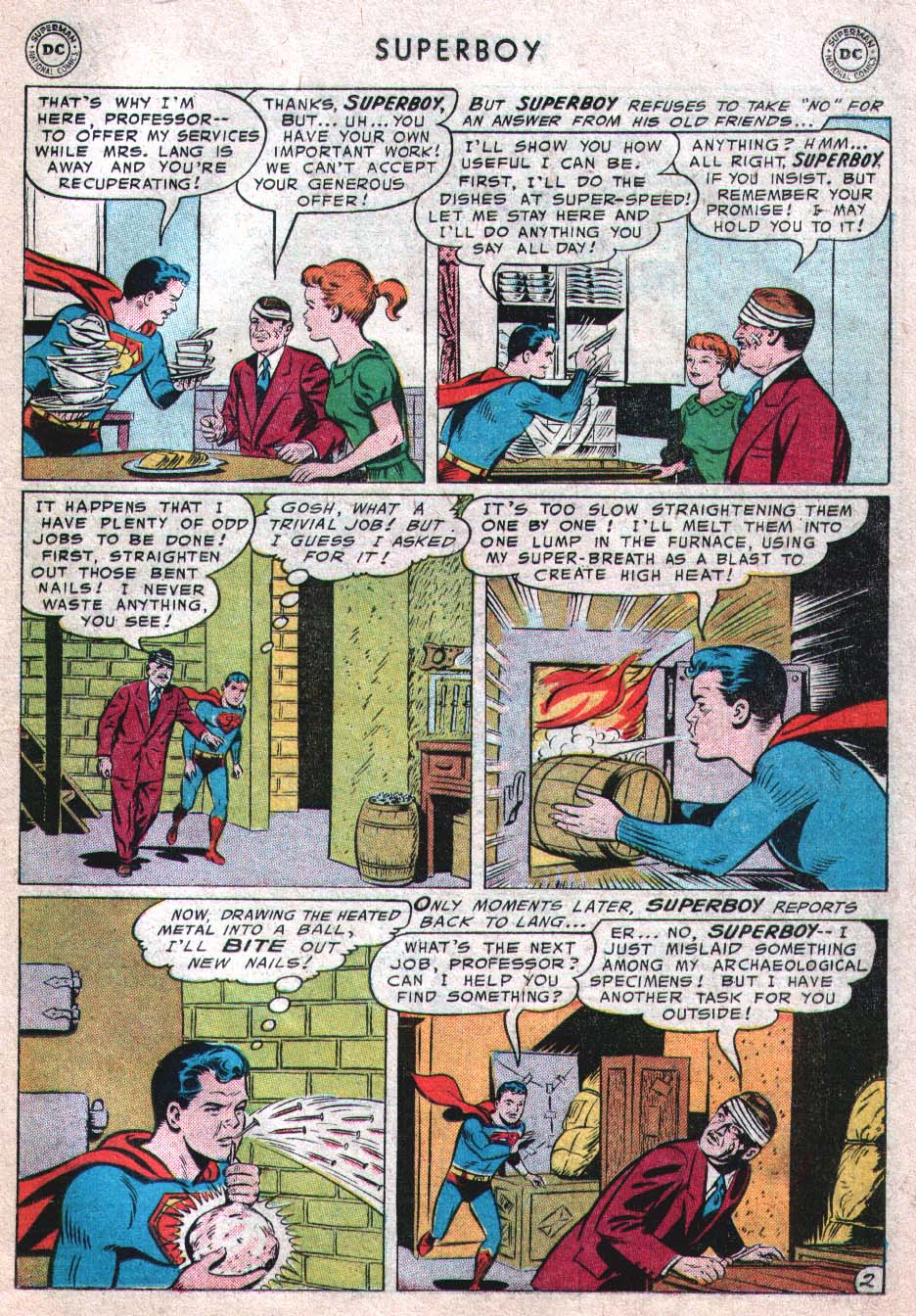 Superboy (1949) issue 46 - Page 11