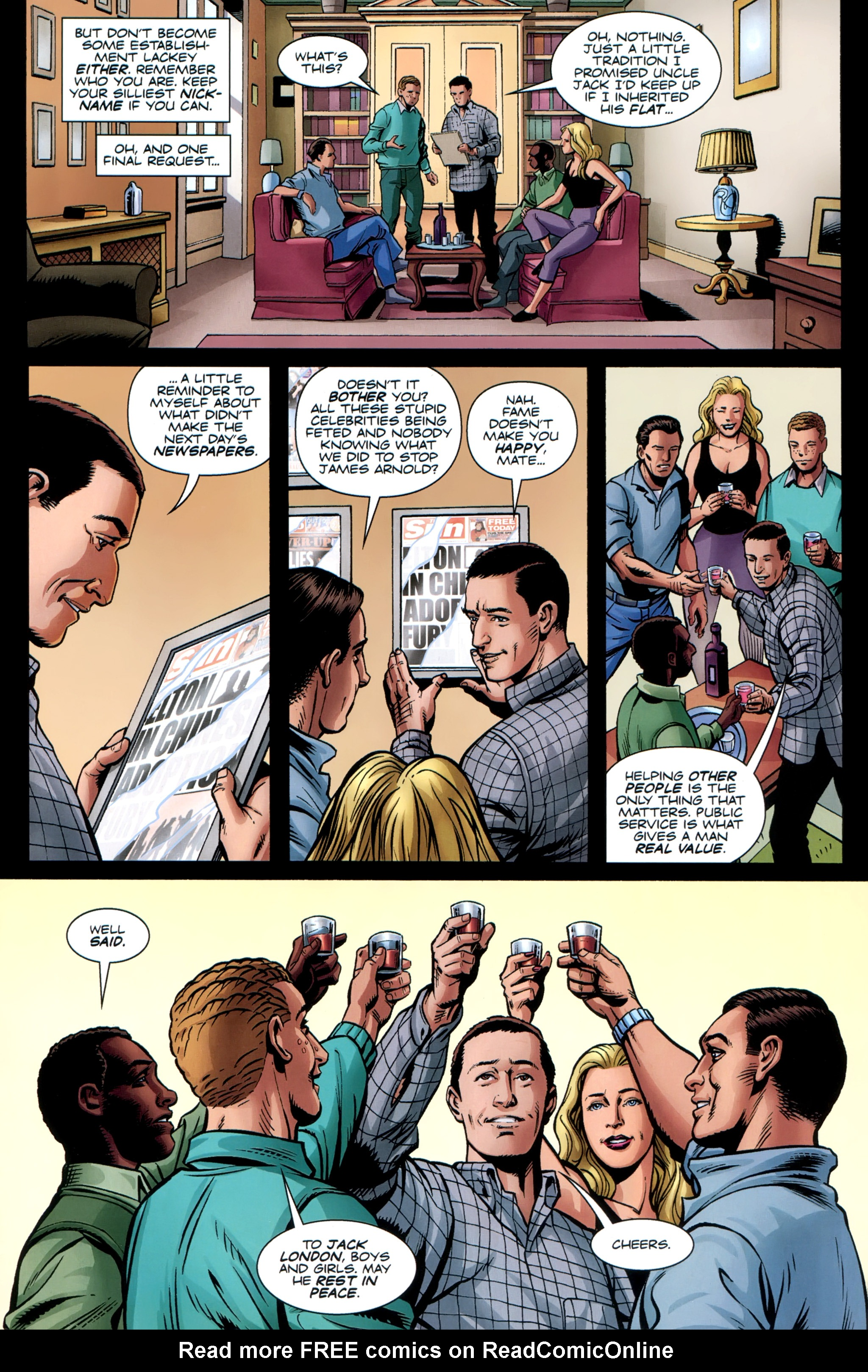 Read online Secret Service comic -  Issue #6 - 32