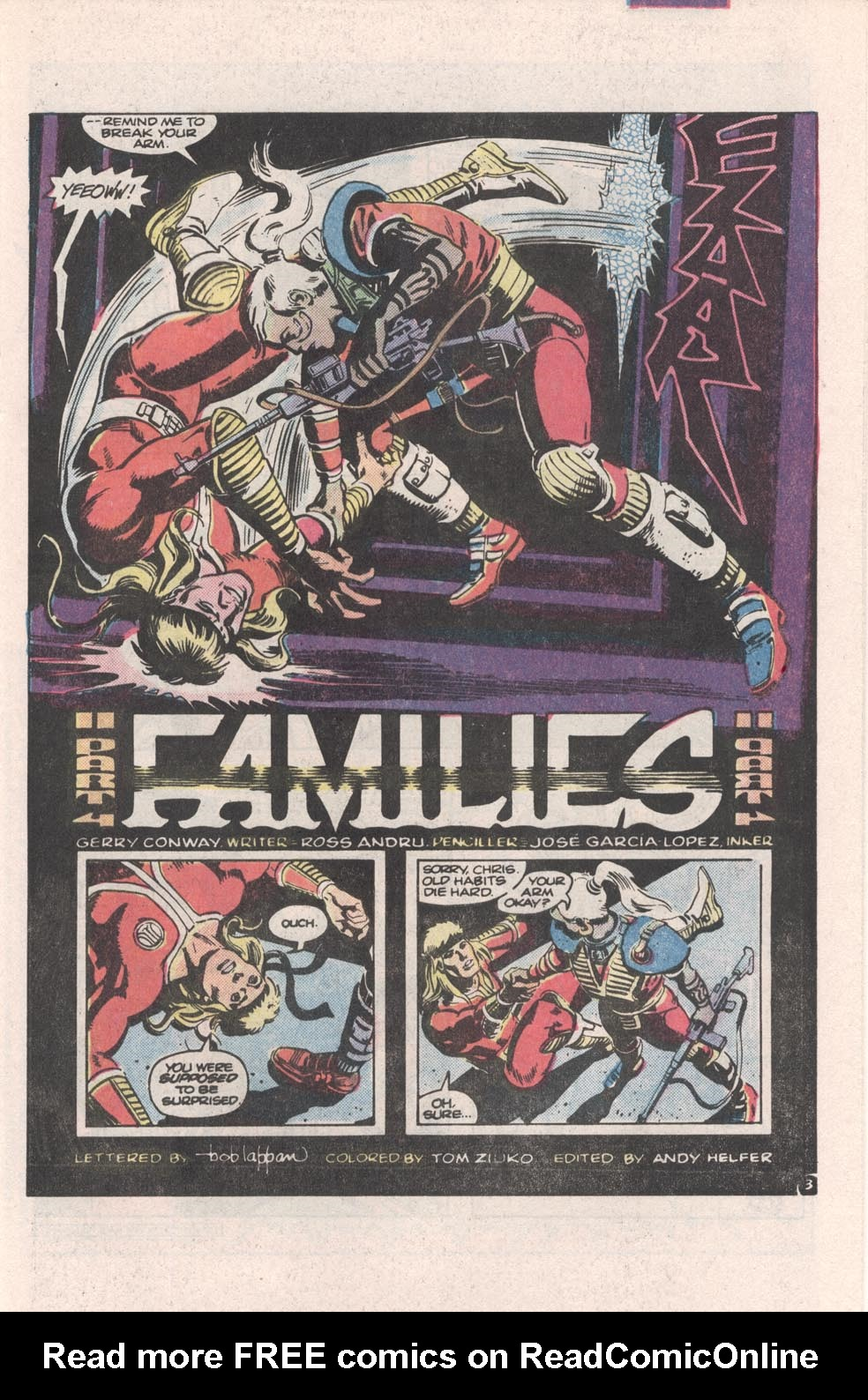 Read online Atari Force (1984) comic -  Issue #4 - 4