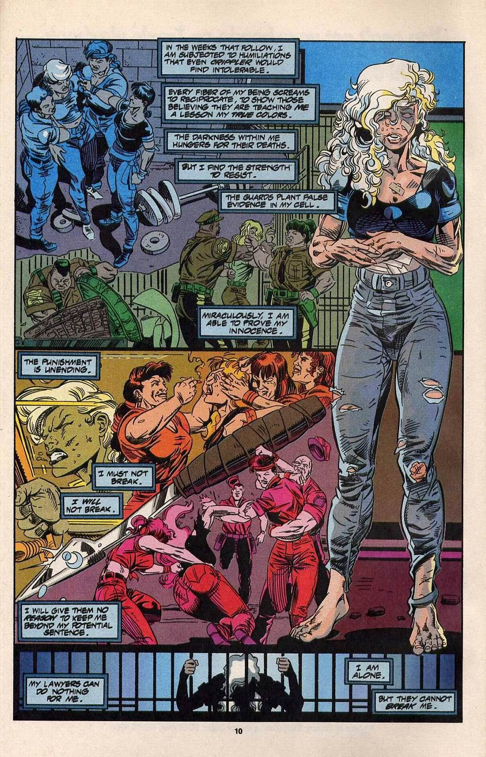 Read online Silver Sable and the Wild Pack comic -  Issue #30 - 9