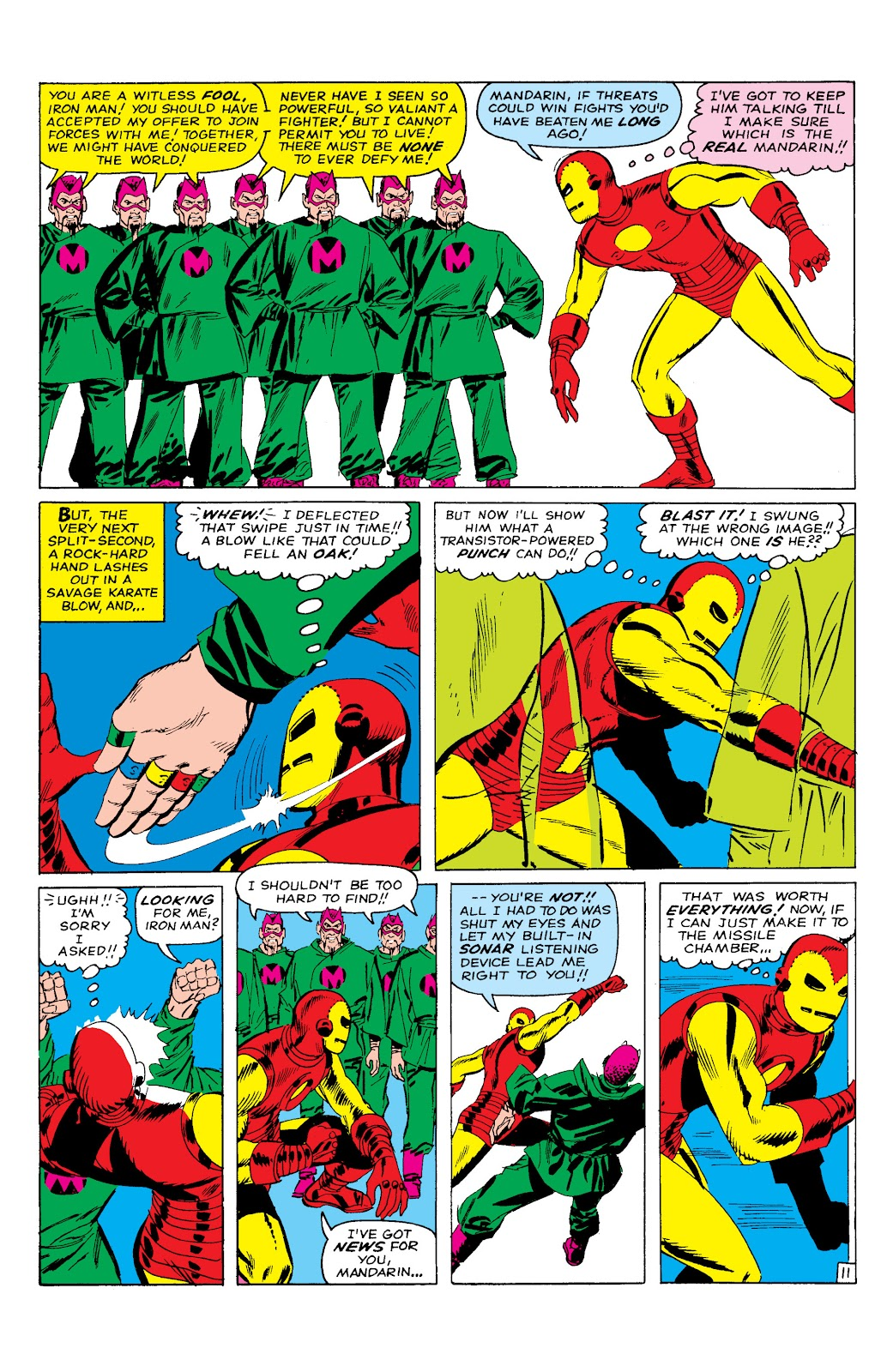 Read online Marvel Masterworks: The Invincible Iron Man comic -  Issue # TPB 2 (Part 1) - 72