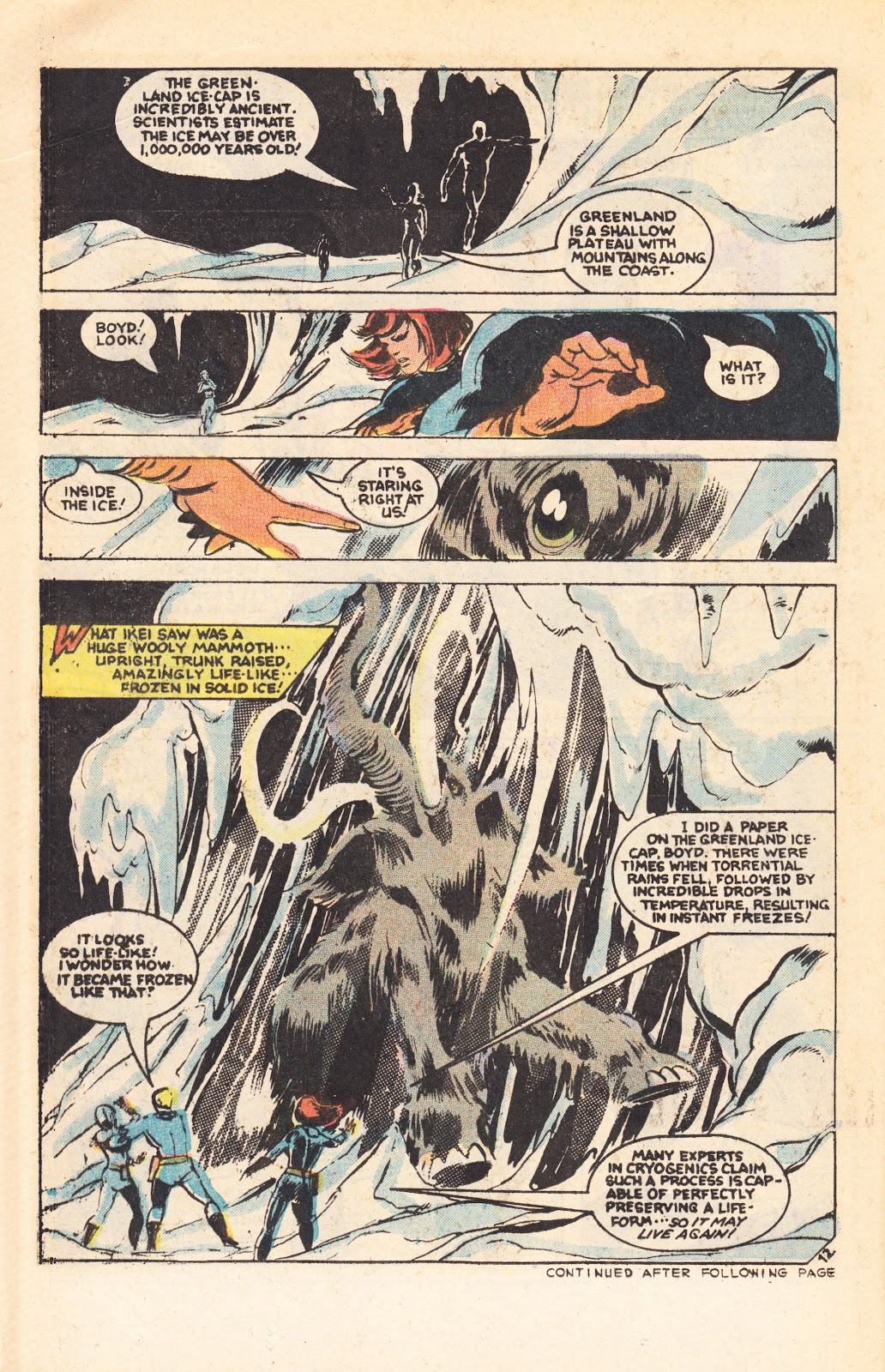Read online Doomsday   1 (1975) comic -  Issue #7 - 16