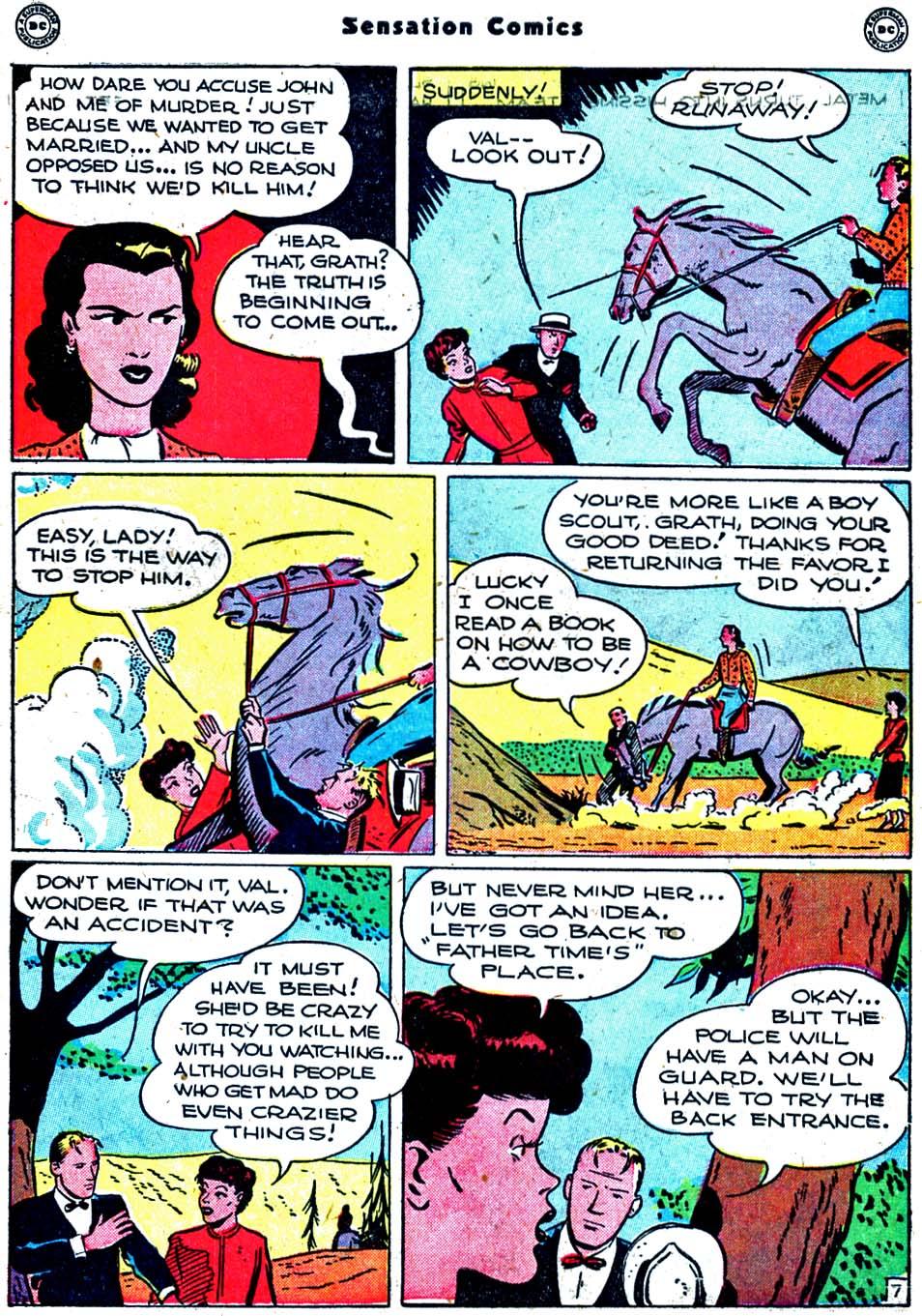 Read online Sensation (Mystery) Comics comic -  Issue #91 - 45