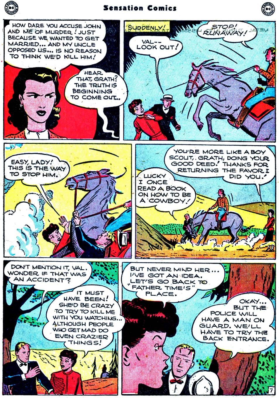 Sensation (Mystery) Comics issue 91 - Page 45